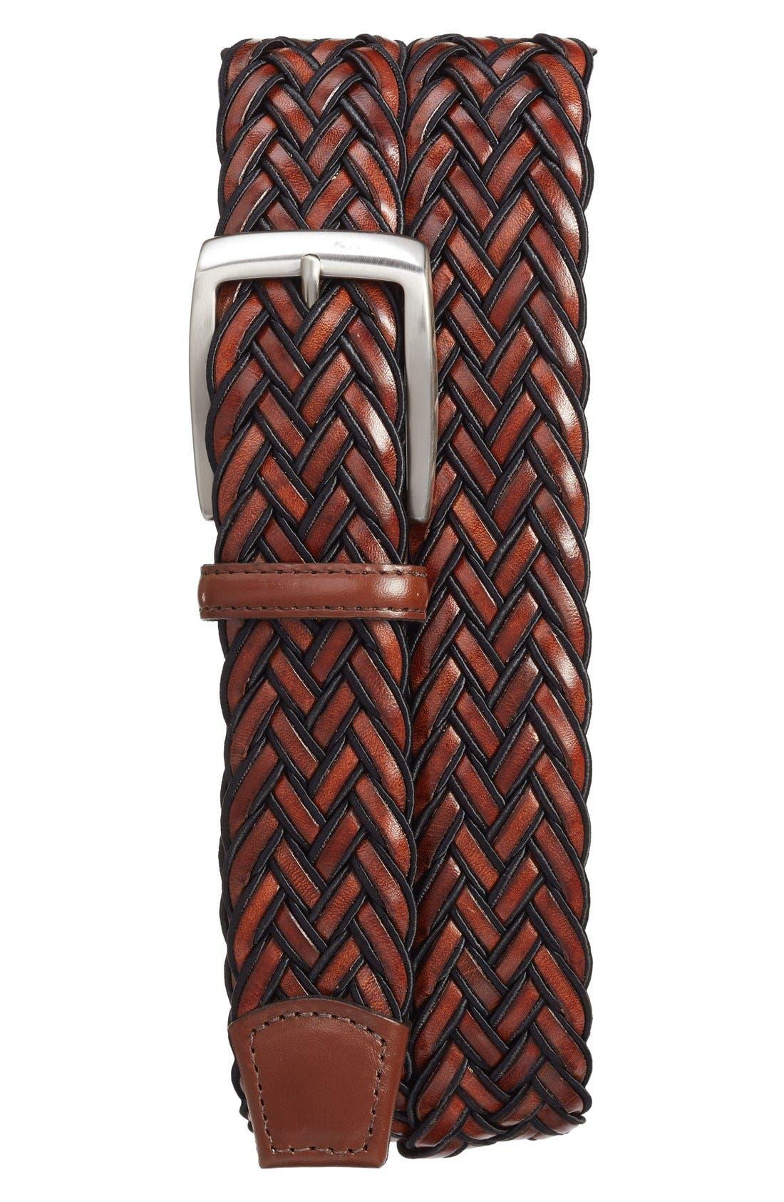 Braided Belt,                             Main thumbnail 1, color,                             001
