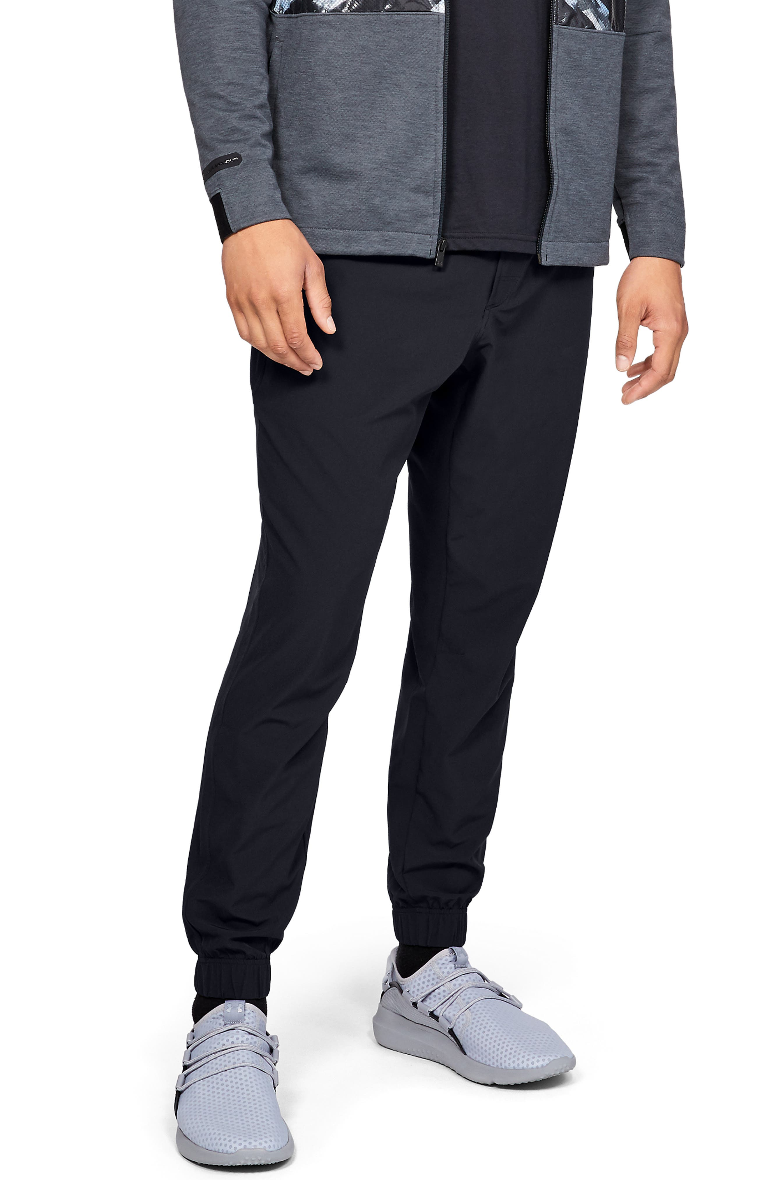 Spostyle Live-In Sweatpants, Main, color, BLACK MEDIUM HEATHER/ BLACK