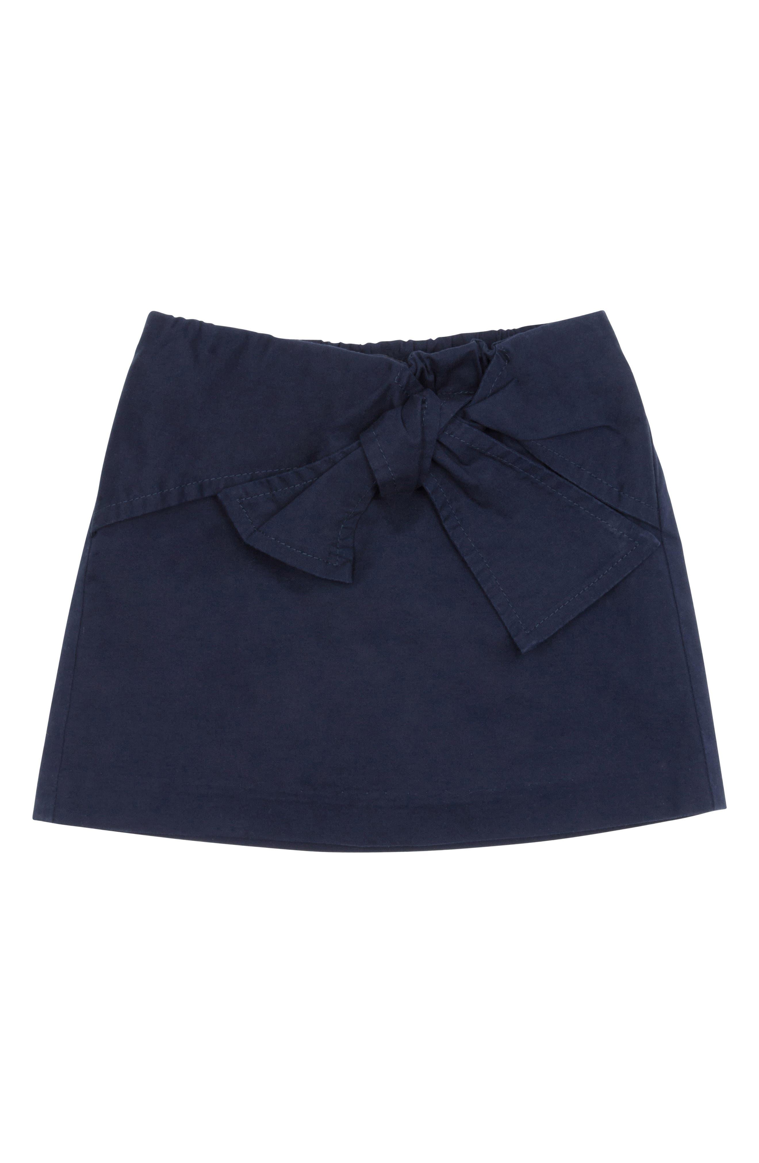 Infant Girls Habitual Kids Tilly Front Bow Skort Size 12M  Blue