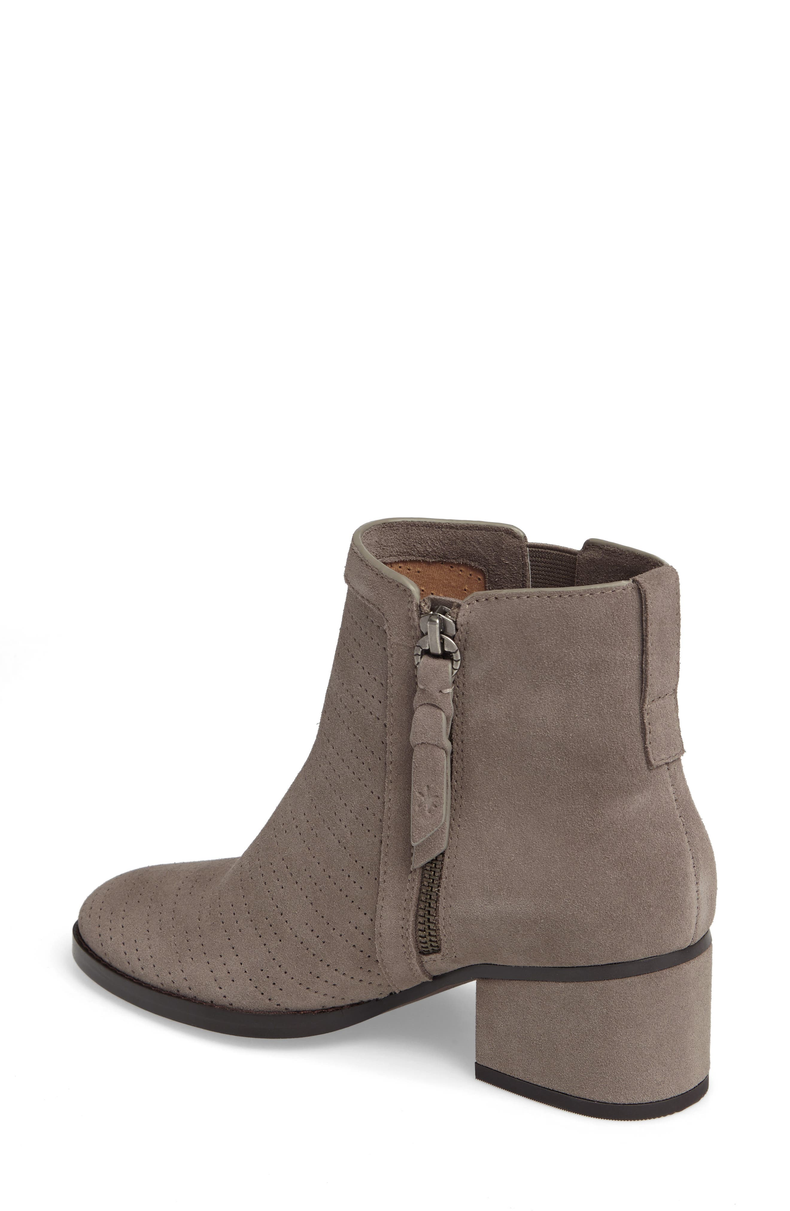 Rosalie Perforated Bootie,                             Alternate thumbnail 2, color,                             036