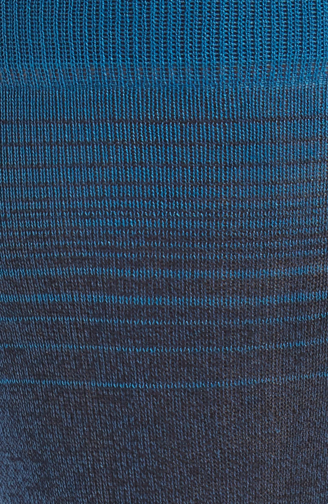 Ombré Stripes Crew Socks,                             Alternate thumbnail 5, color,