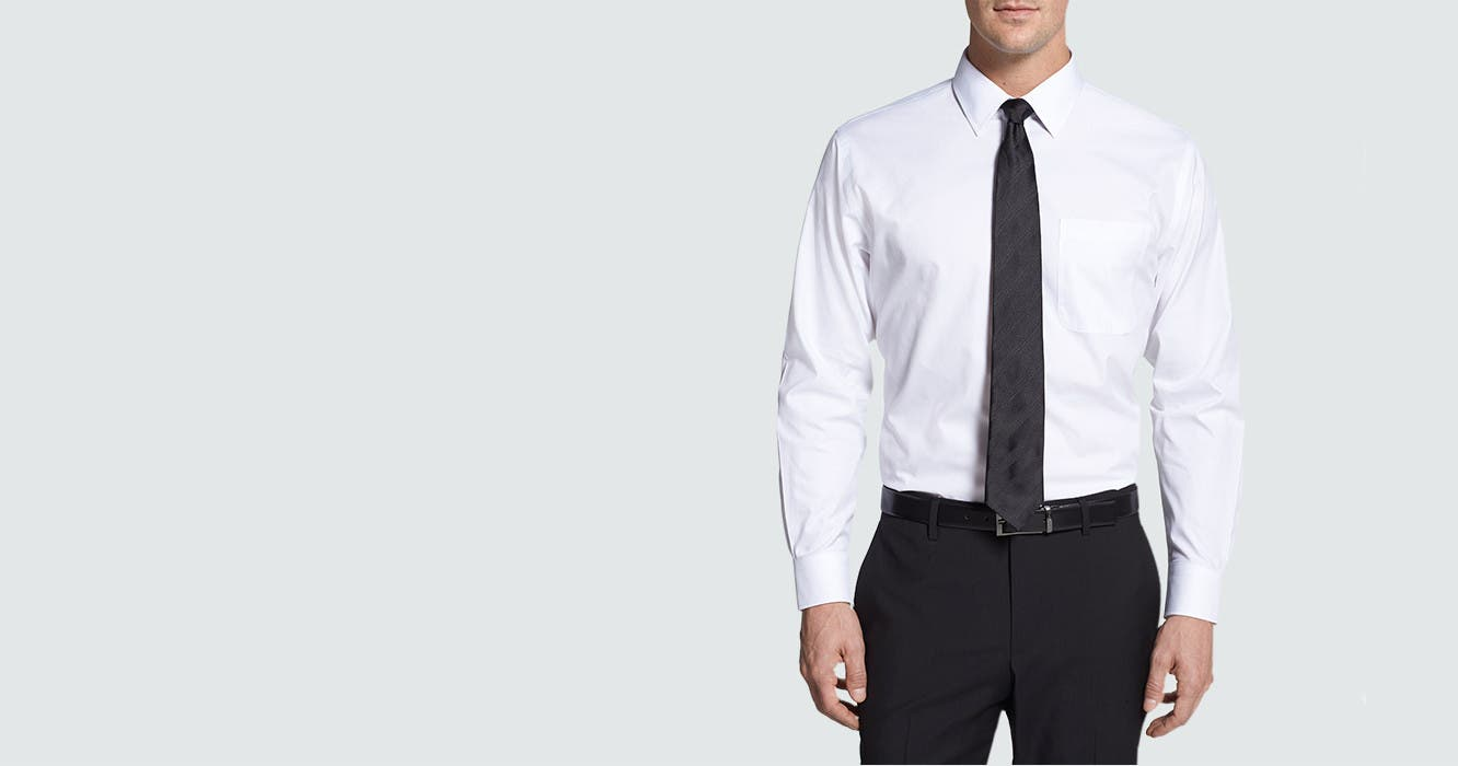 Mens Dress Shirt Fit Guide Size Chart Nordstrom