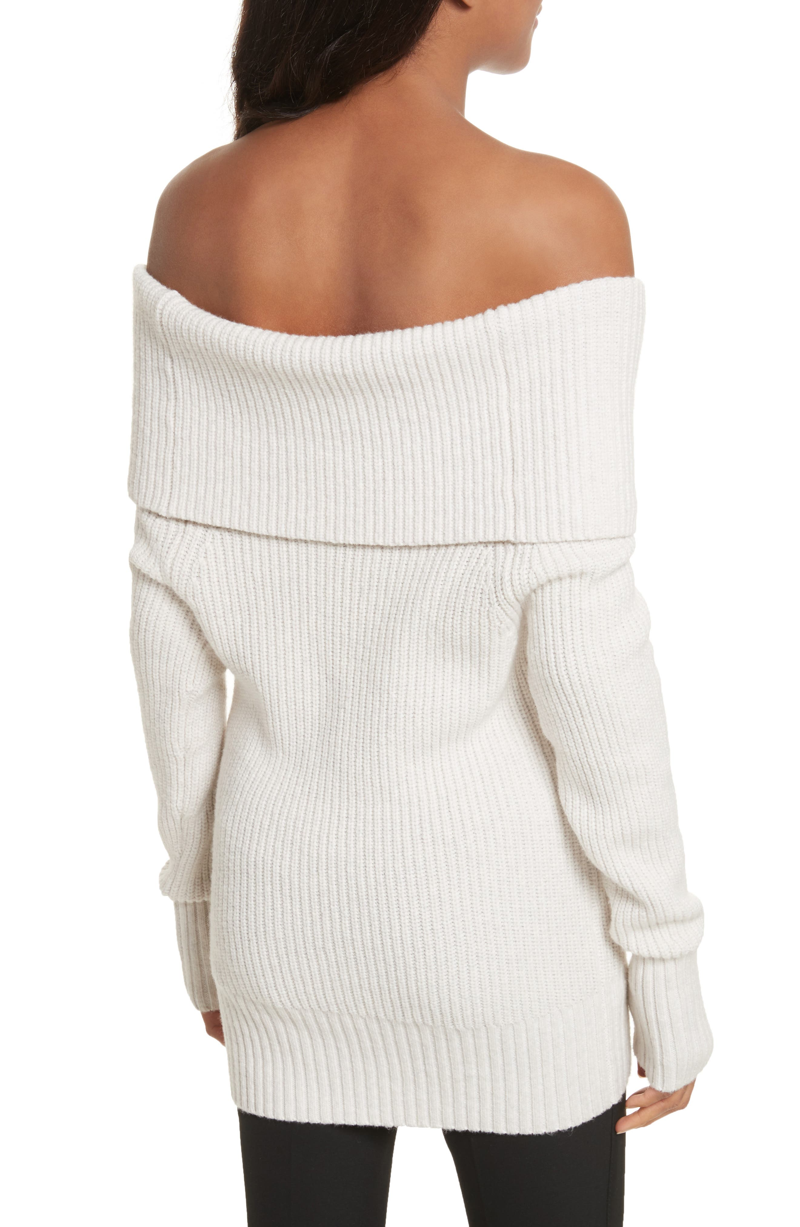 Off the Shoulder Sweater,                             Alternate thumbnail 2, color,                             900