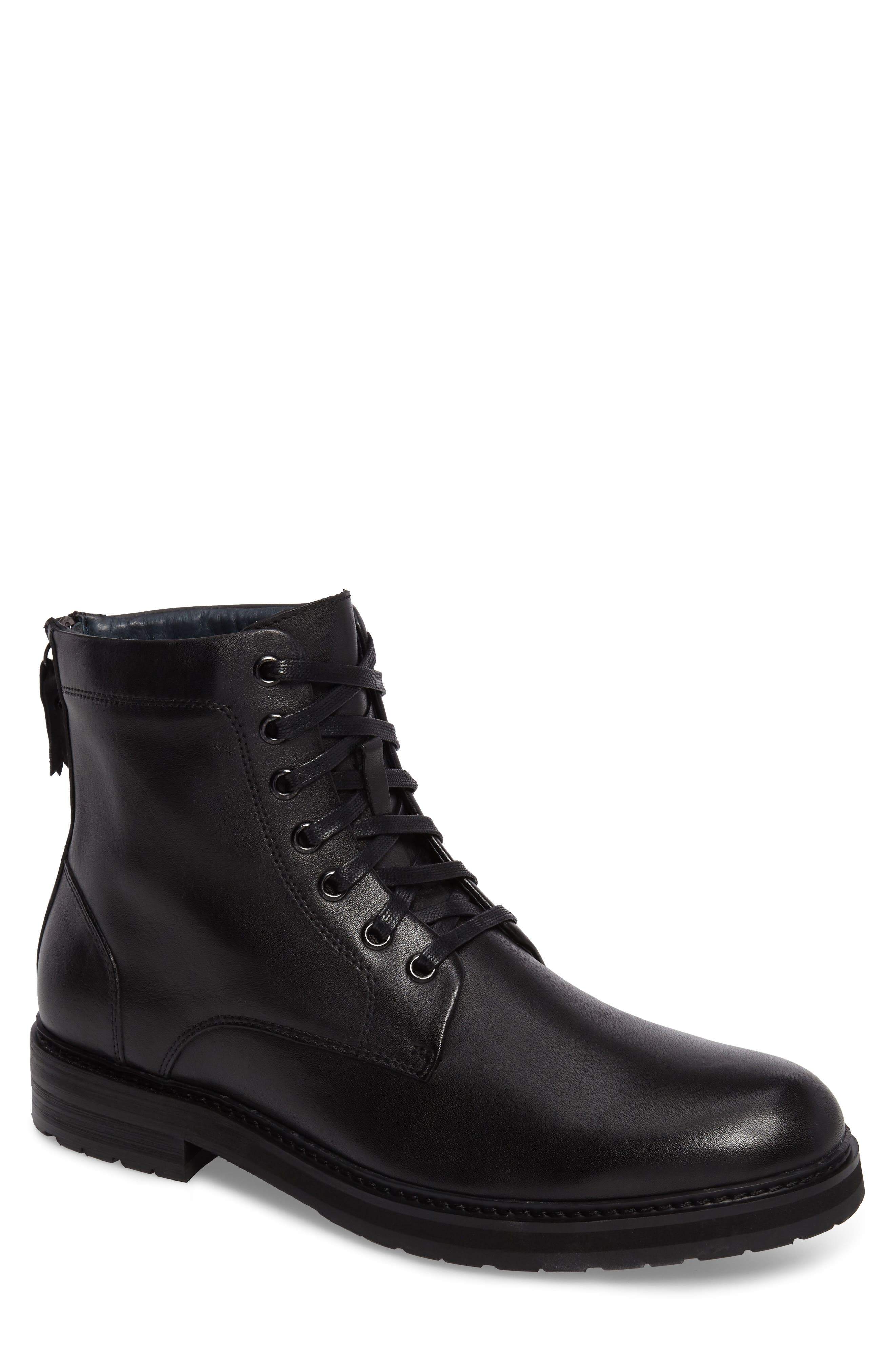 Miro Combat Boot,                         Main,                         color, 001
