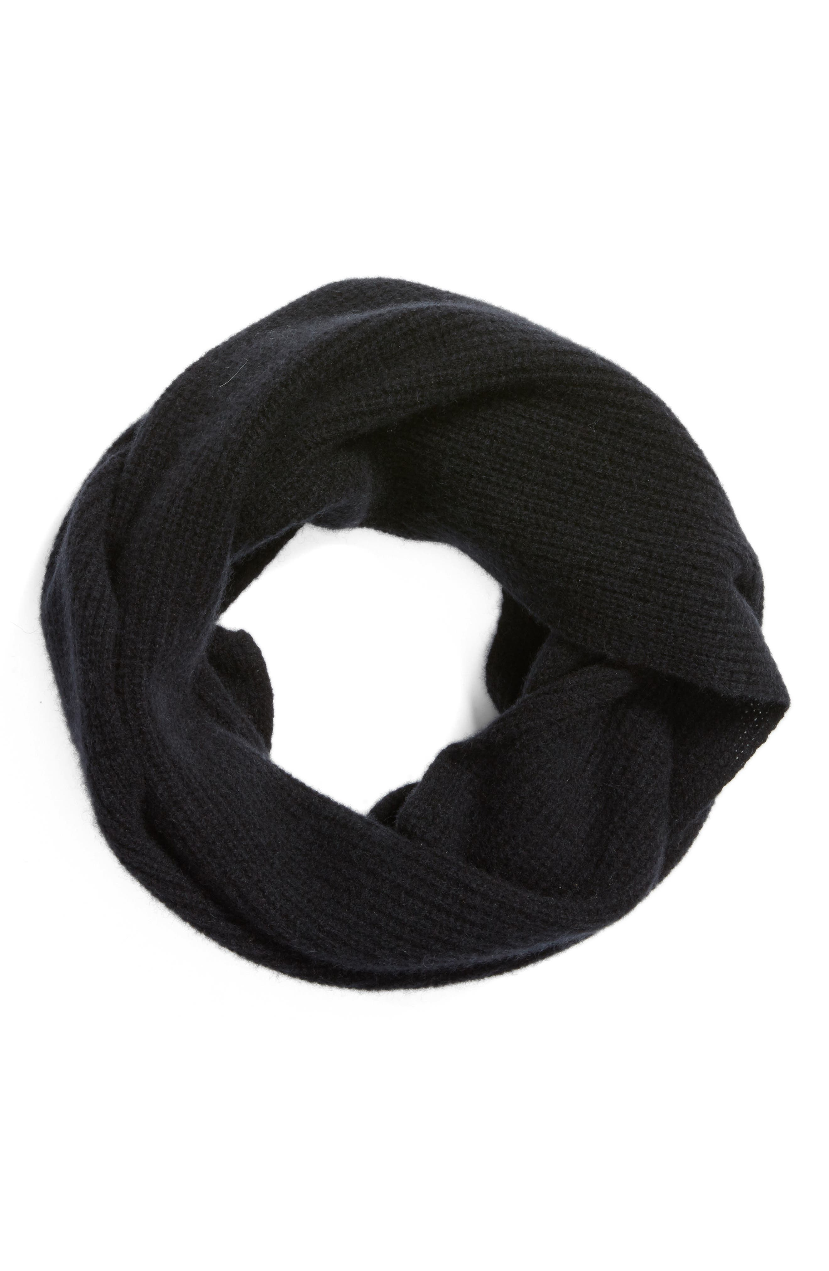 Cashmere Infinity Scarf,                             Alternate thumbnail 2, color,                             001