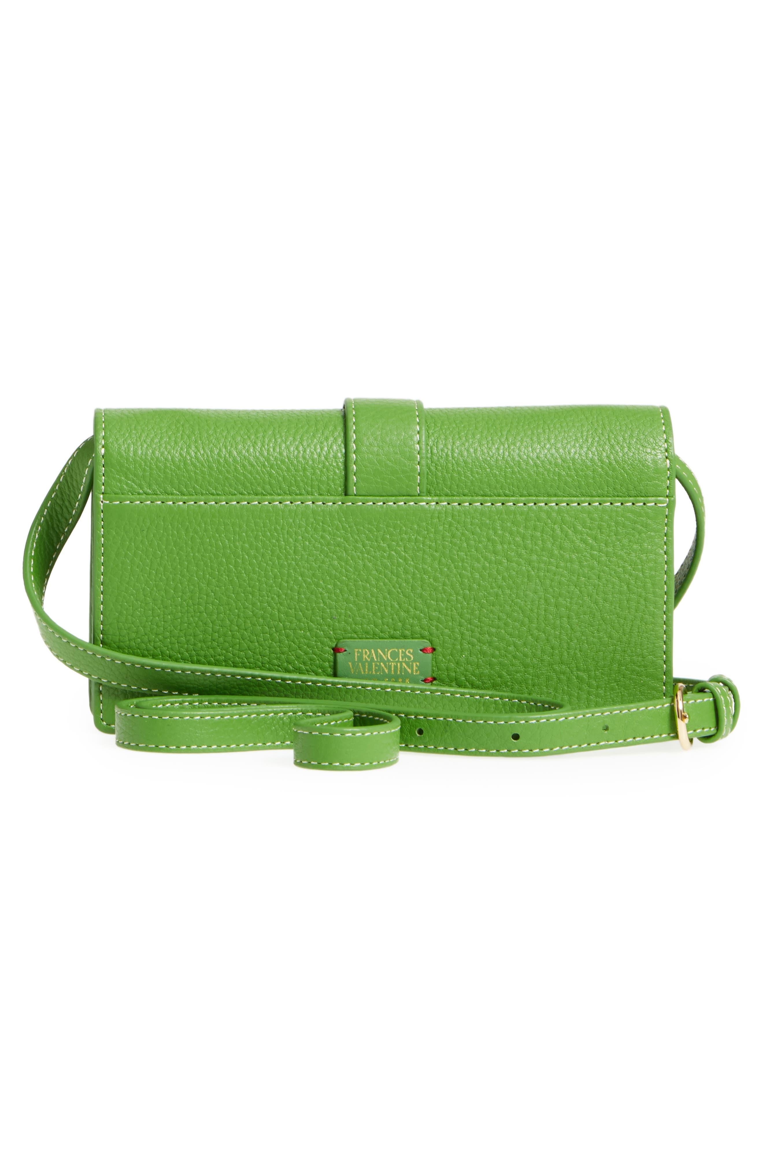 Calfskin Leather Crossbody Wallet,                             Alternate thumbnail 11, color,