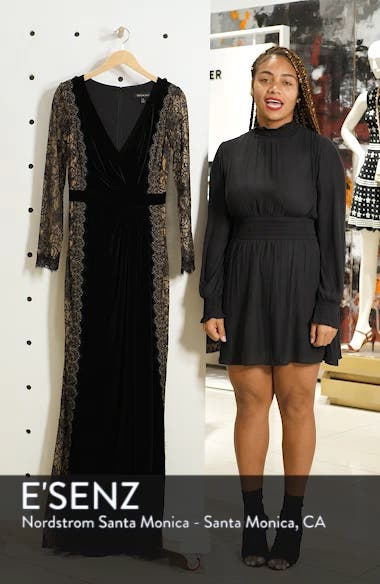 Lace & Velvet Gown, sales video thumbnail