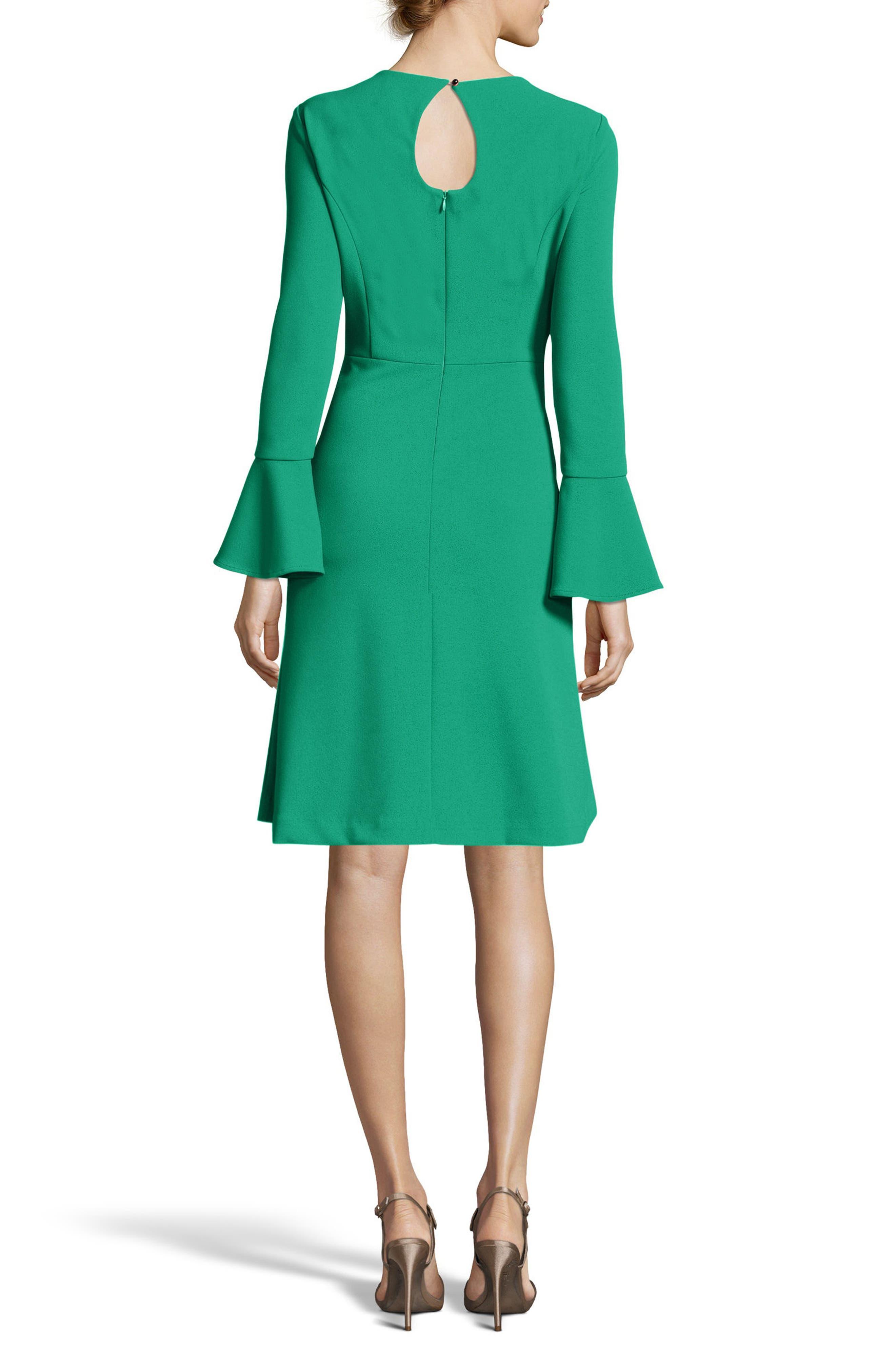 Fit & Flare Dress,                             Alternate thumbnail 5, color,