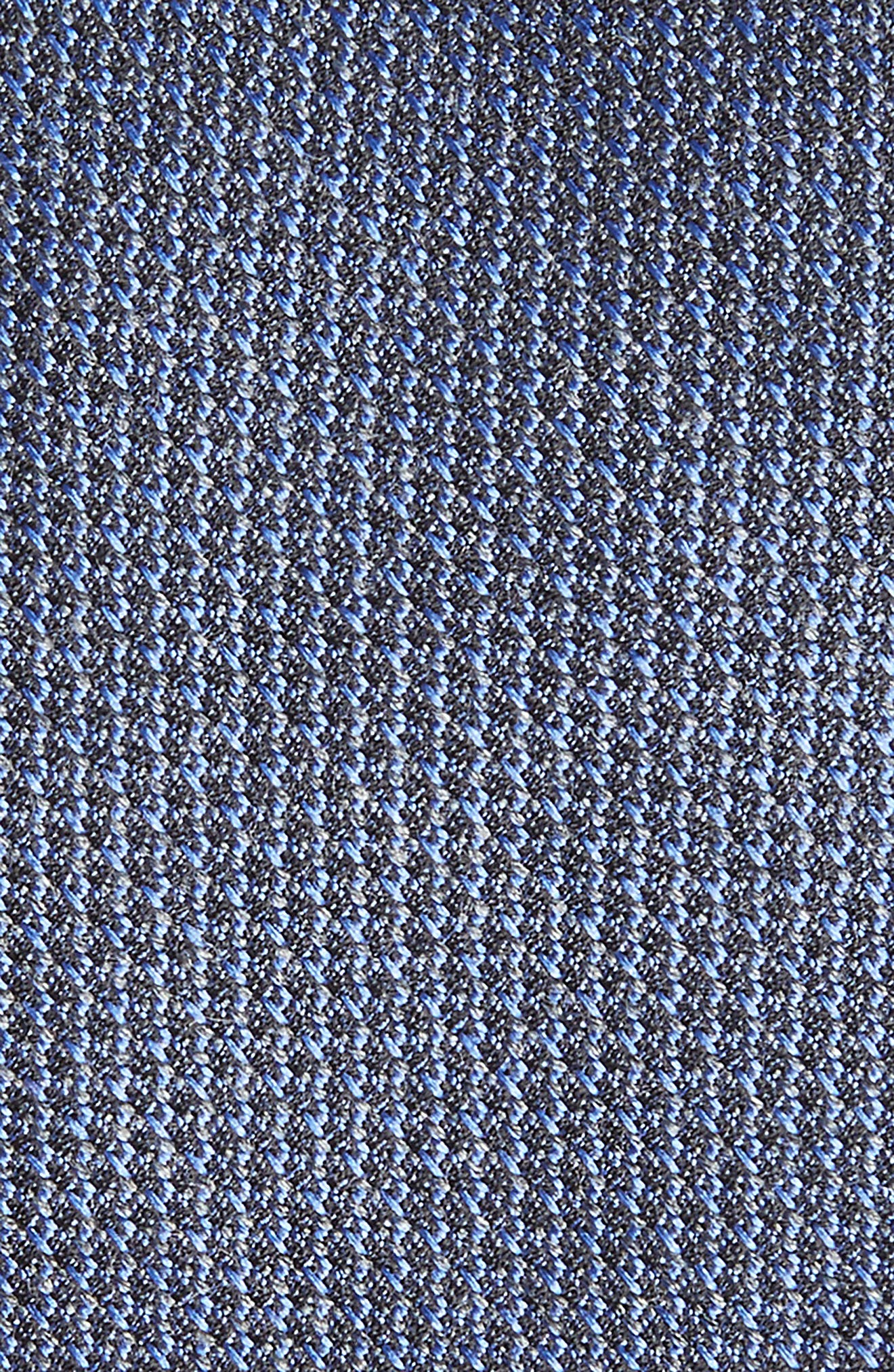 Kenton Textured Silk Blend Skinny Tie,                             Alternate thumbnail 8, color,