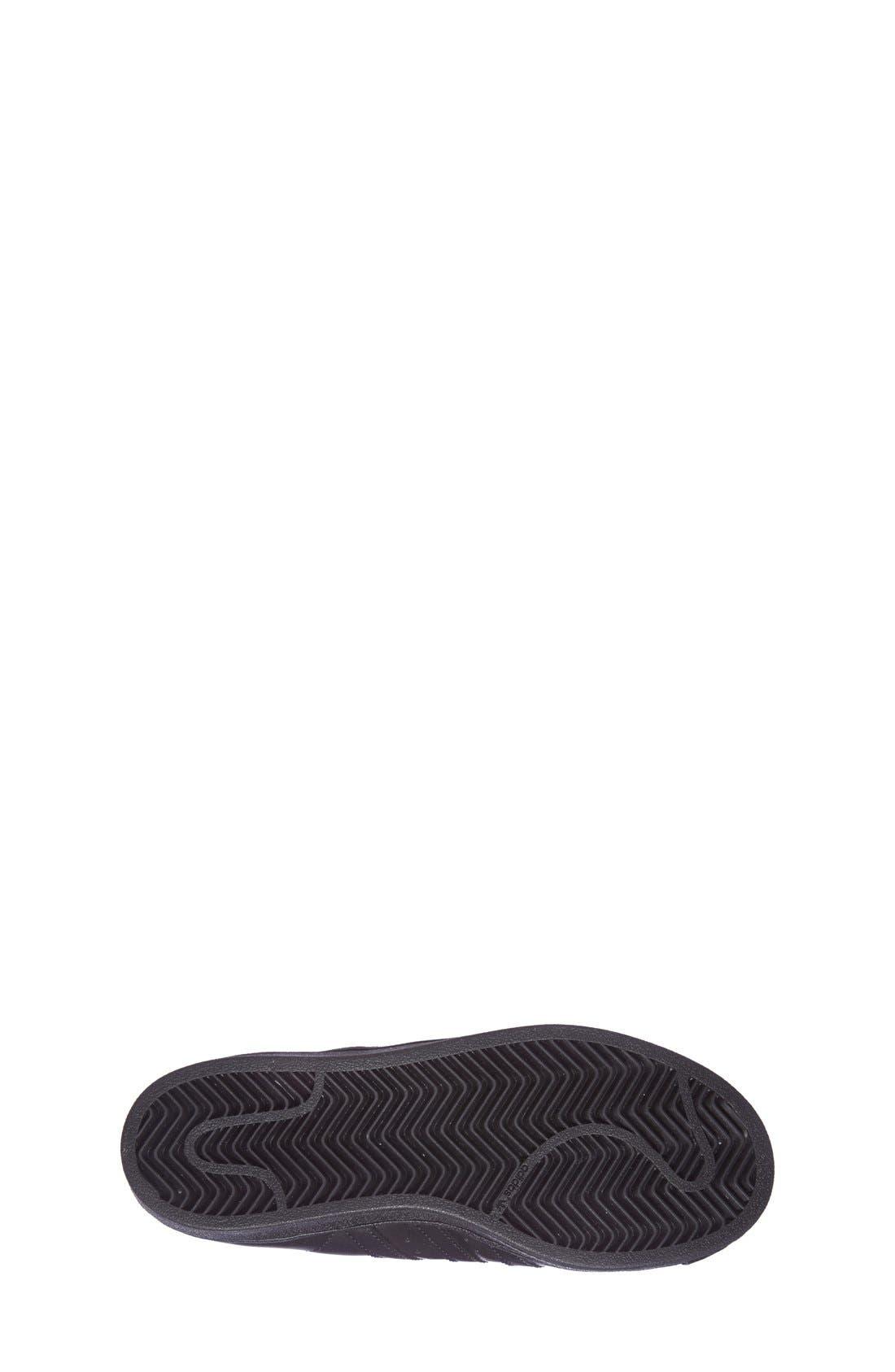 'Pro Model' High Top Sneaker,                             Alternate thumbnail 3, color,                             001