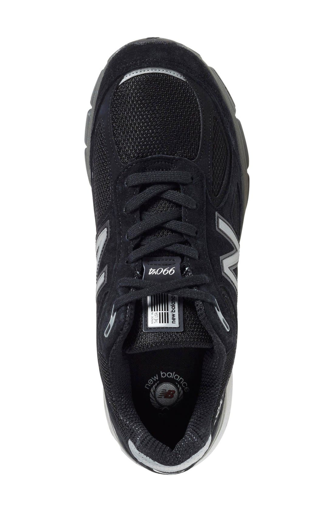 '990' Running Shoe,                             Alternate thumbnail 2, color,                             BLACK