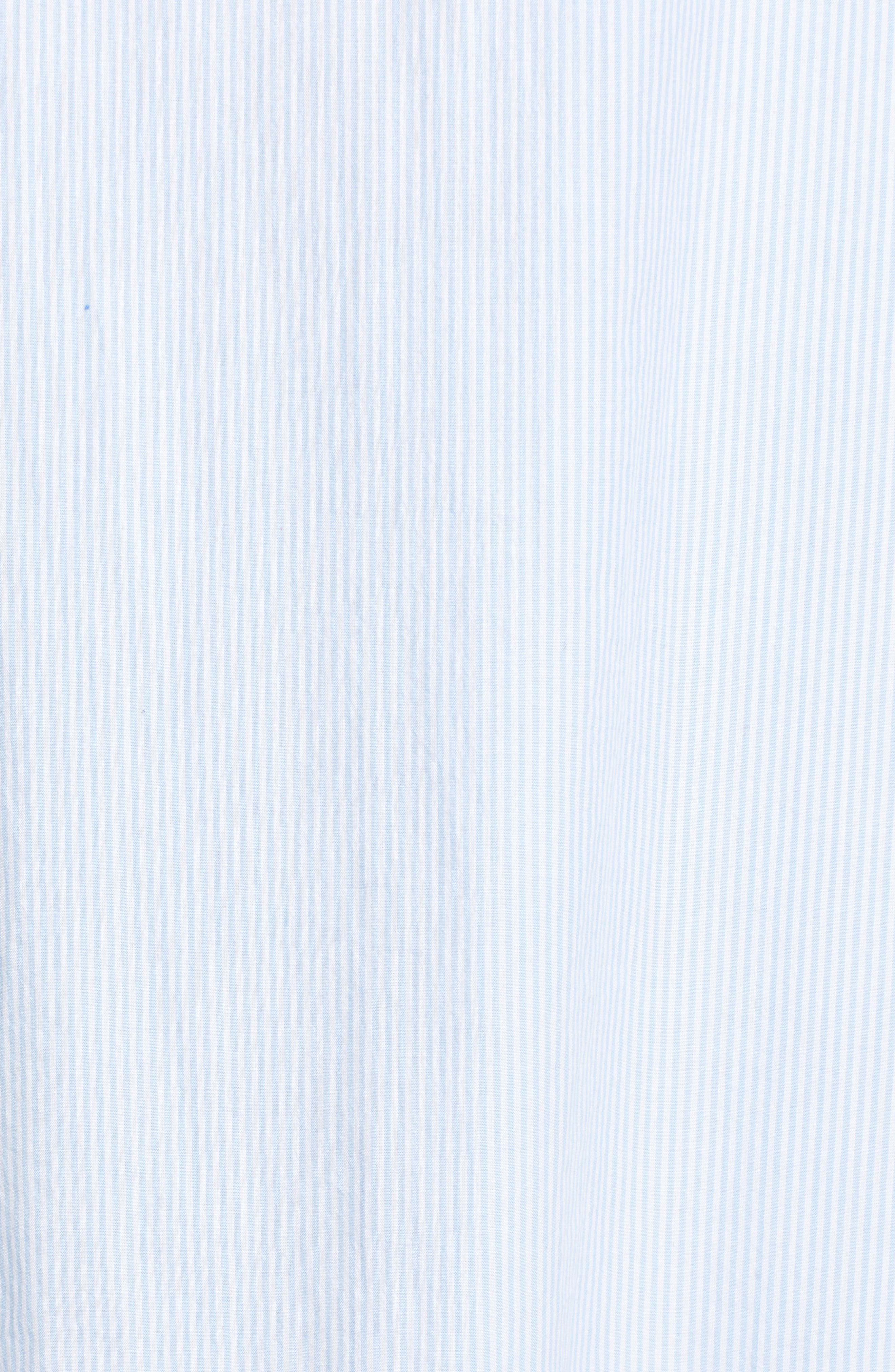 Sea Spray Striped Dress,                             Alternate thumbnail 6, color,                             458
