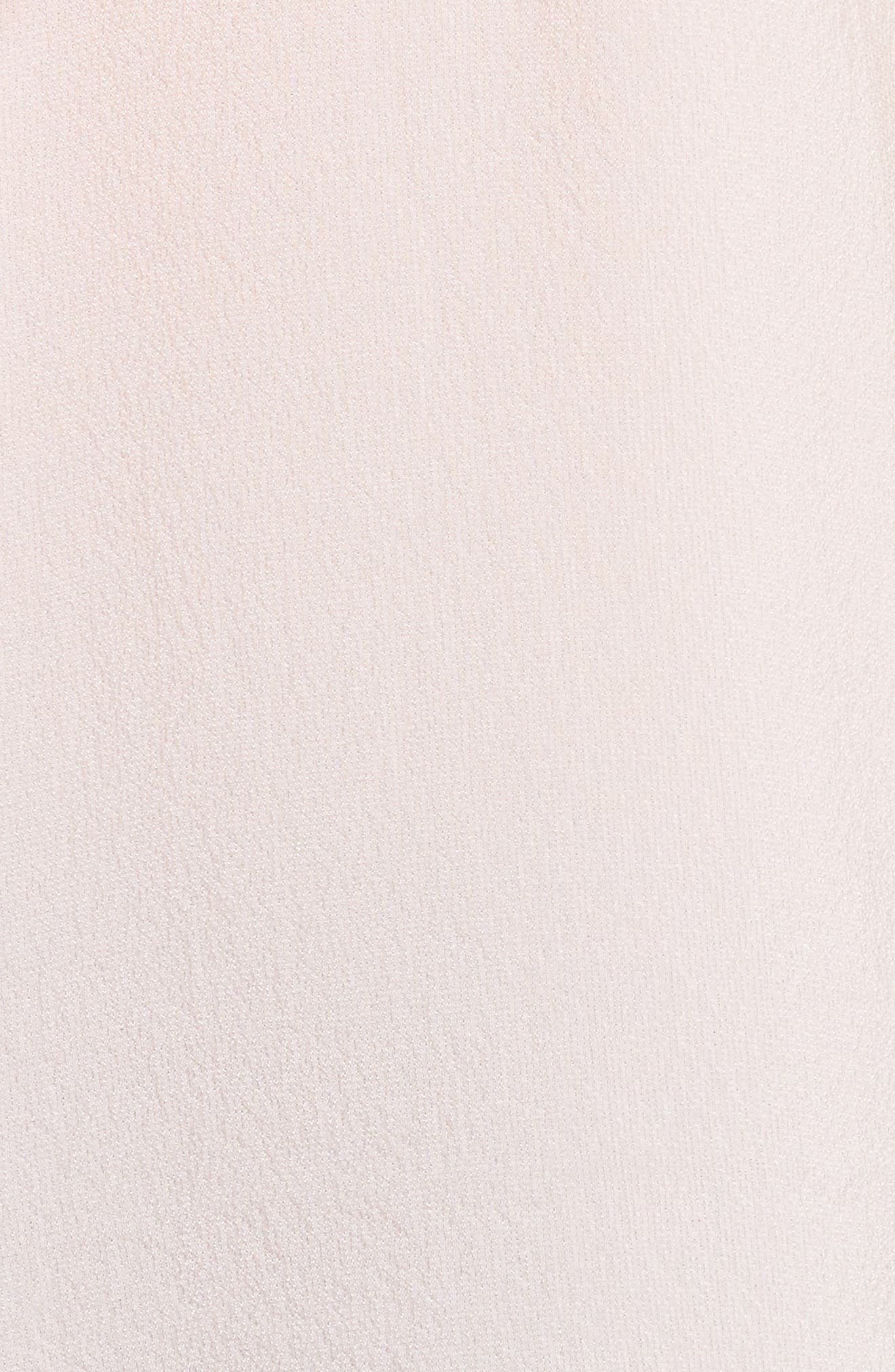 One-Shoulder Silk Top,                             Alternate thumbnail 5, color,                             652