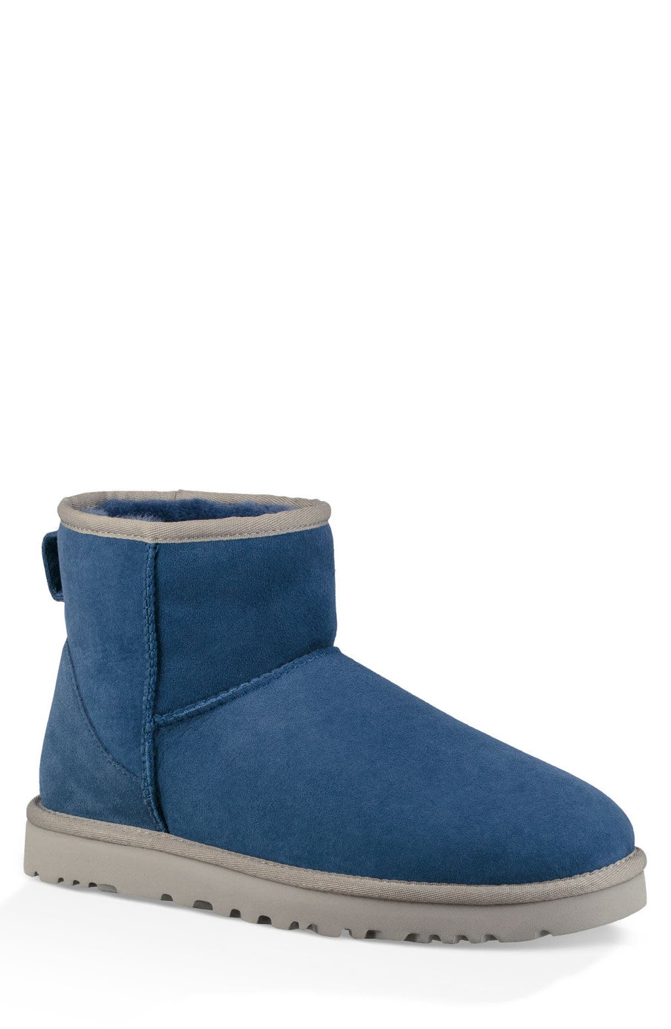Classic Mini Boot,                         Main,                         color, BLUE