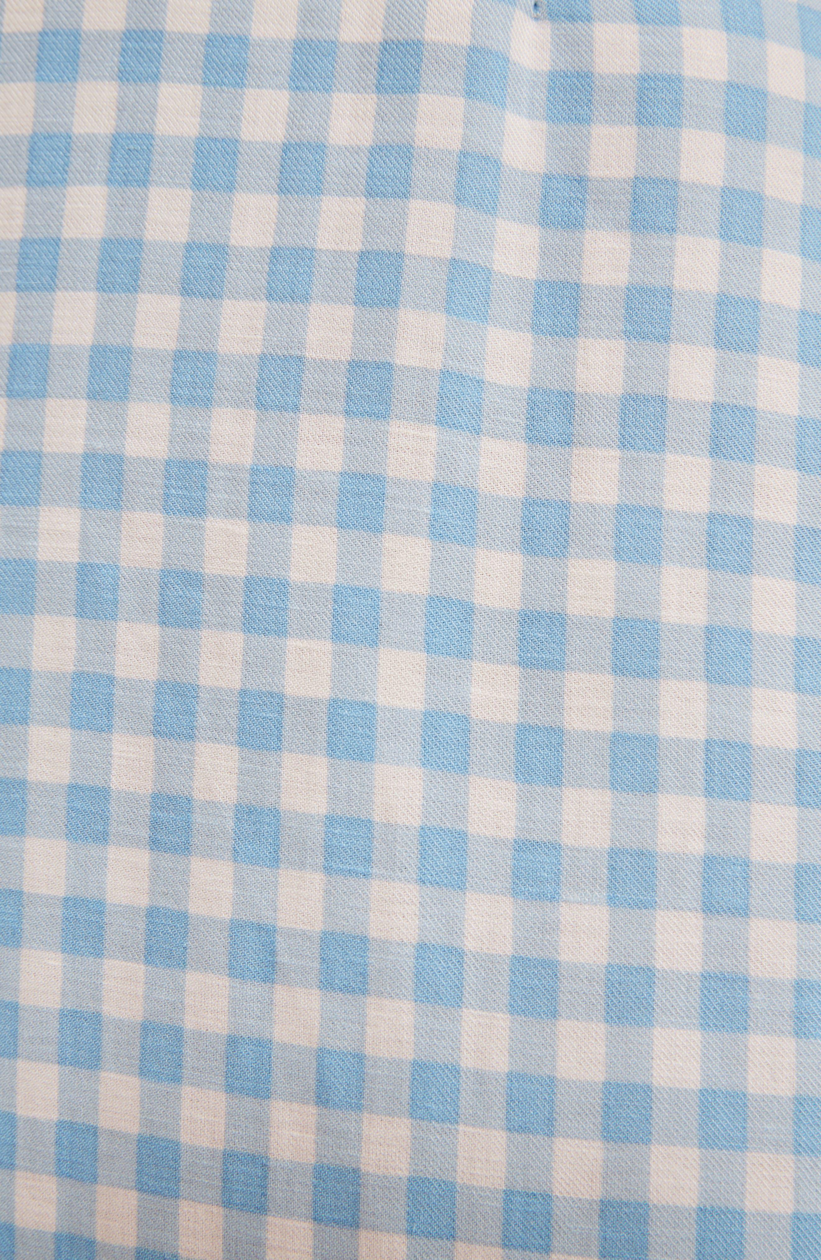 Preston Floral Mini Dress,                             Alternate thumbnail 4, color,                             RUTH