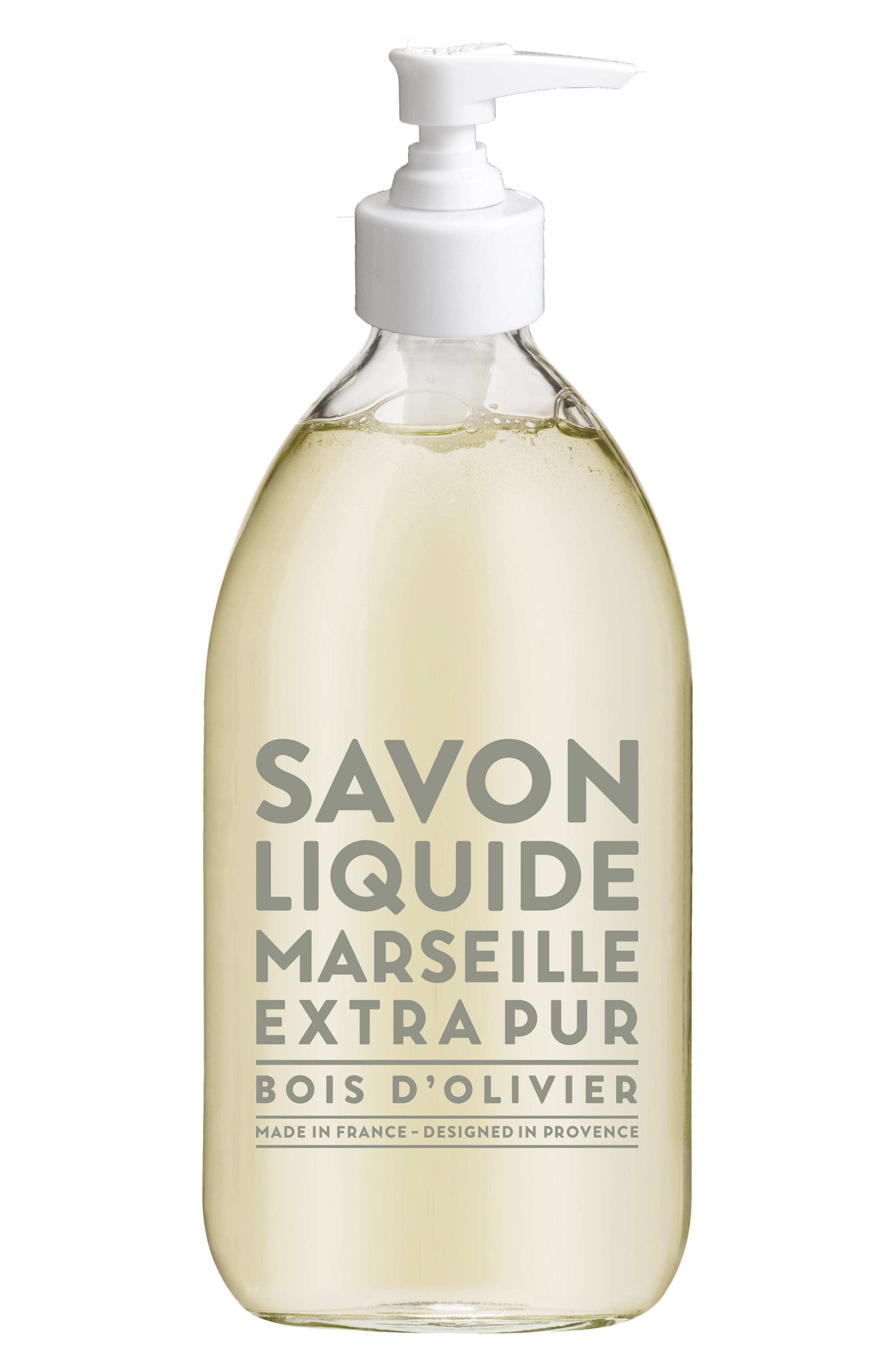 Olive Wood Liquid Marseille Soap,                             Main thumbnail 1, color,