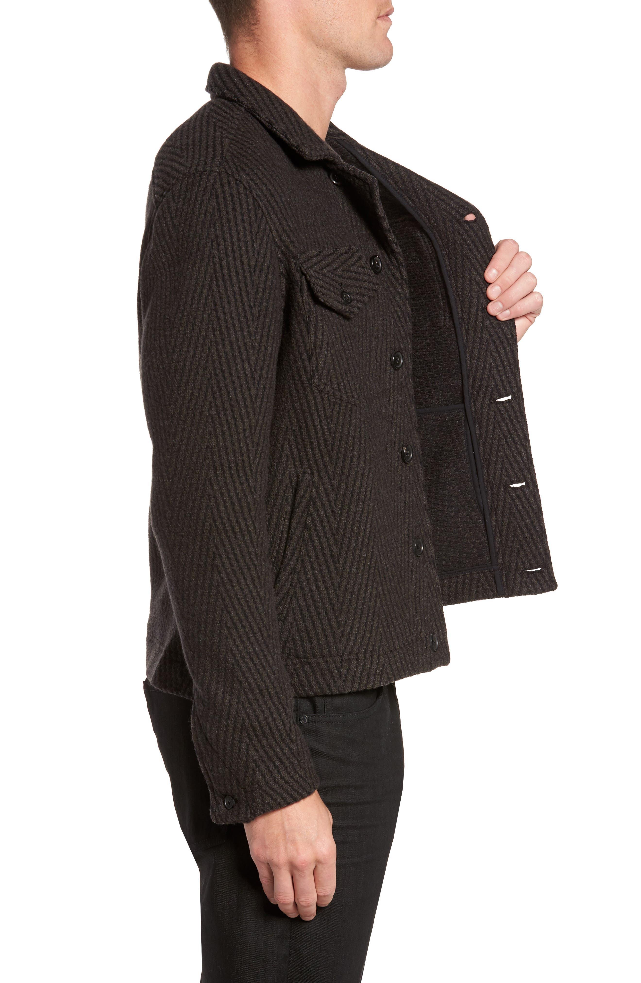Berger Wool Shirt Jacket,                             Alternate thumbnail 3, color,                             200