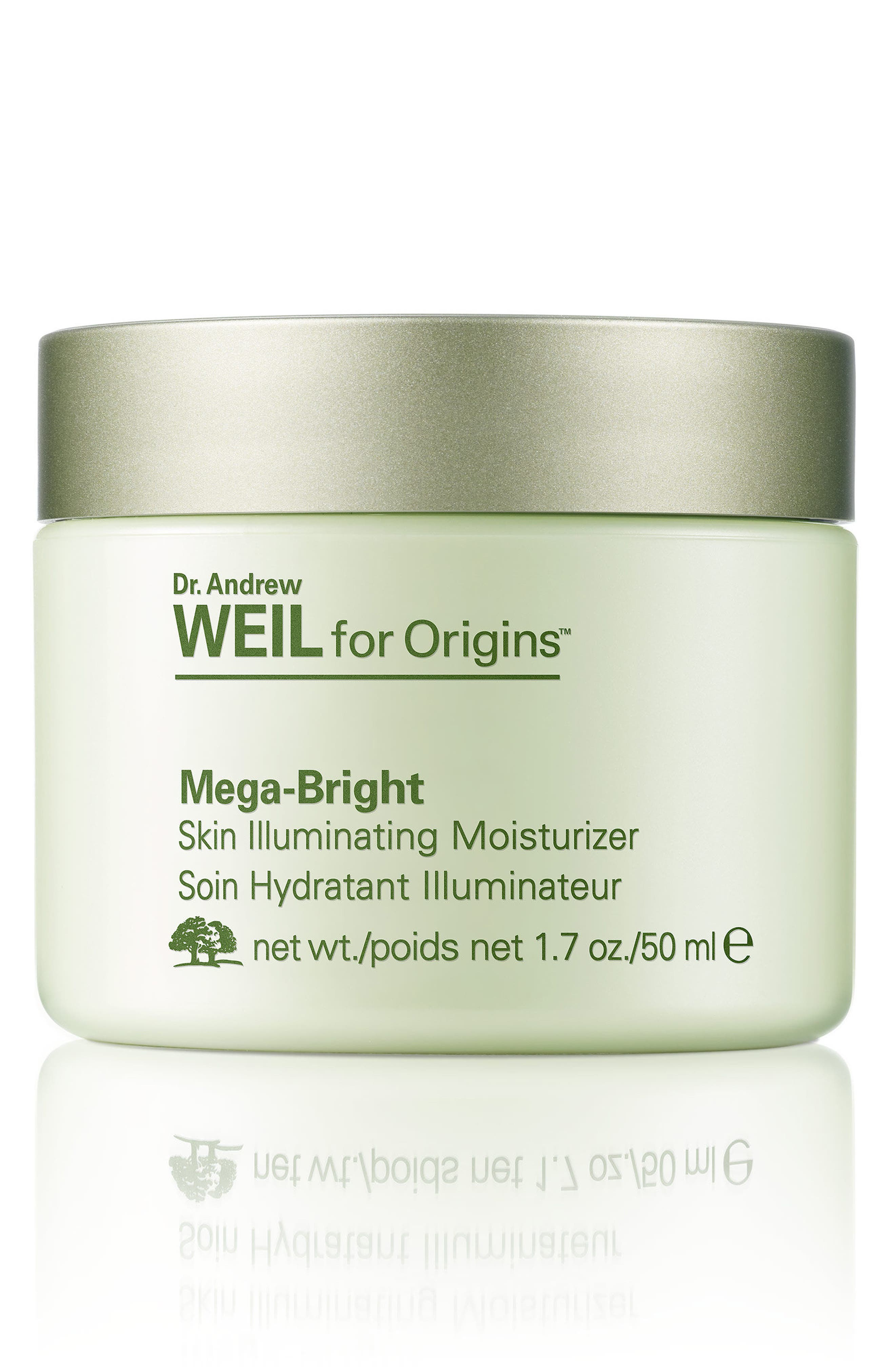 Dr. Andrew Weil for Origins<sup>™</sup> Mega-Bright Skin Illuminating Moisturizer,                             Main thumbnail 1, color,                             NO COLOR