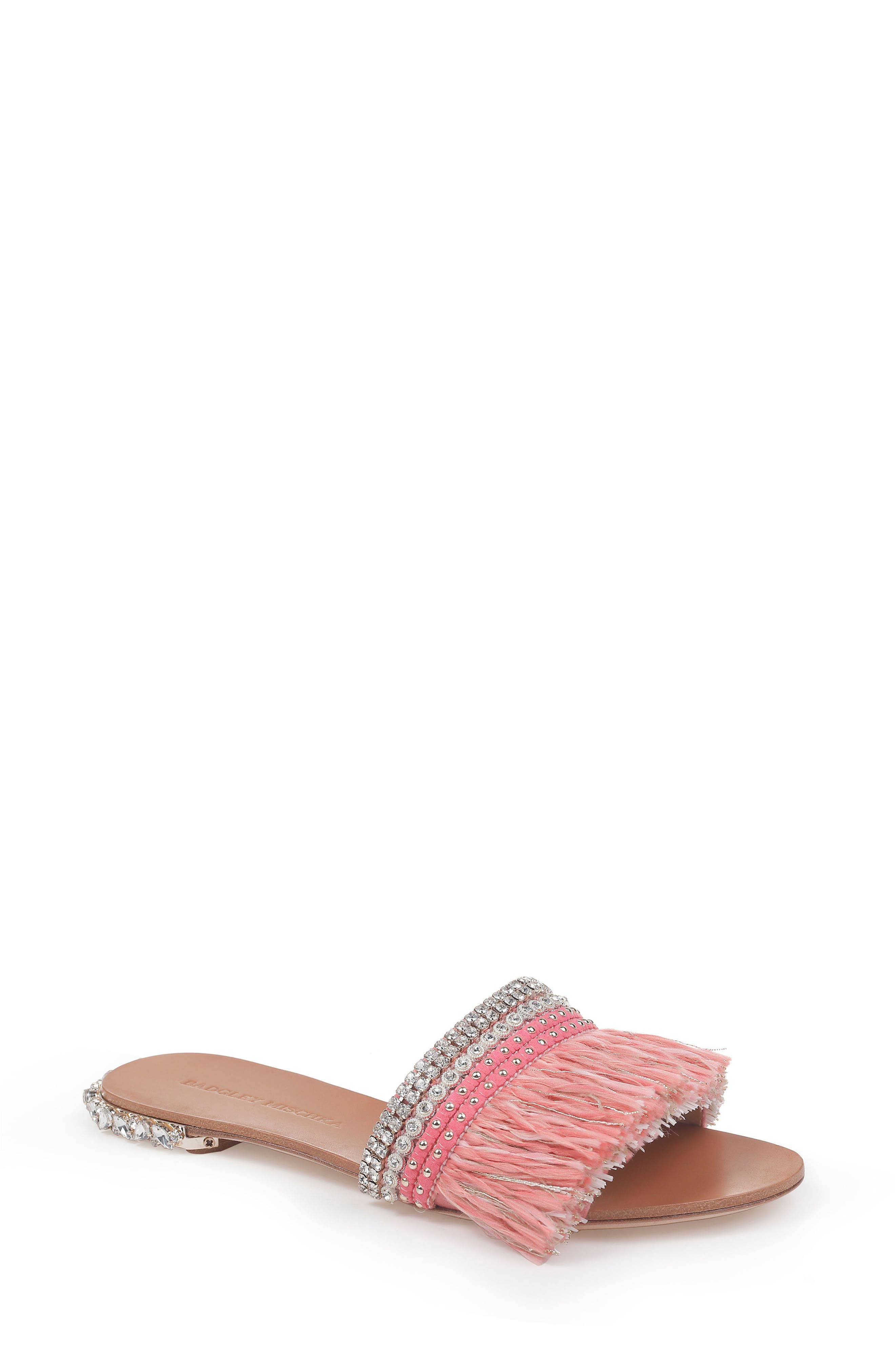 Sharlene Sandal,                         Main,                         color, GRAPEFRUIT SATIN