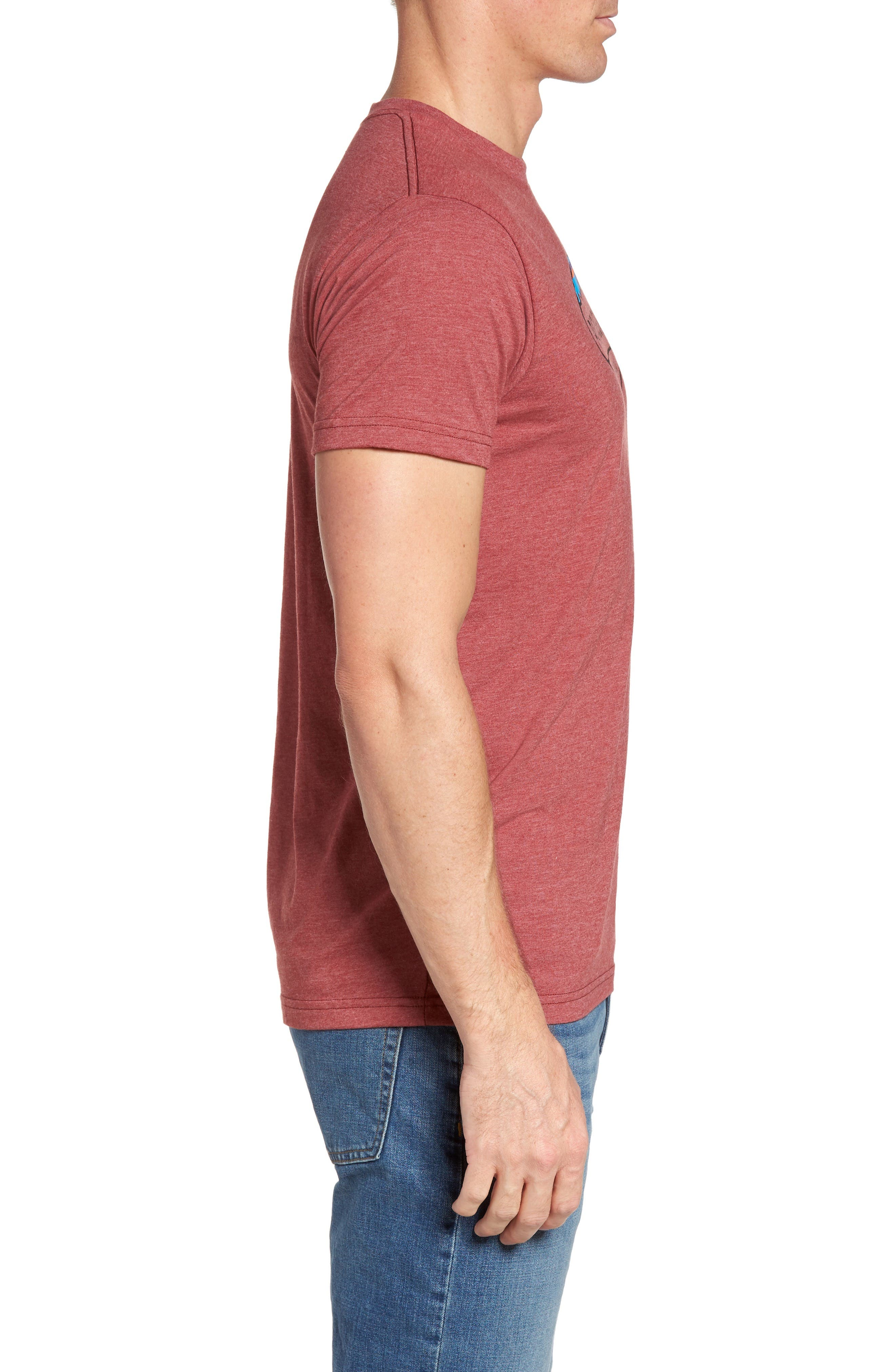 'Fitz Roy Crest' Slim Fit Organic Cotton Blend T-Shirt,                             Alternate thumbnail 24, color,