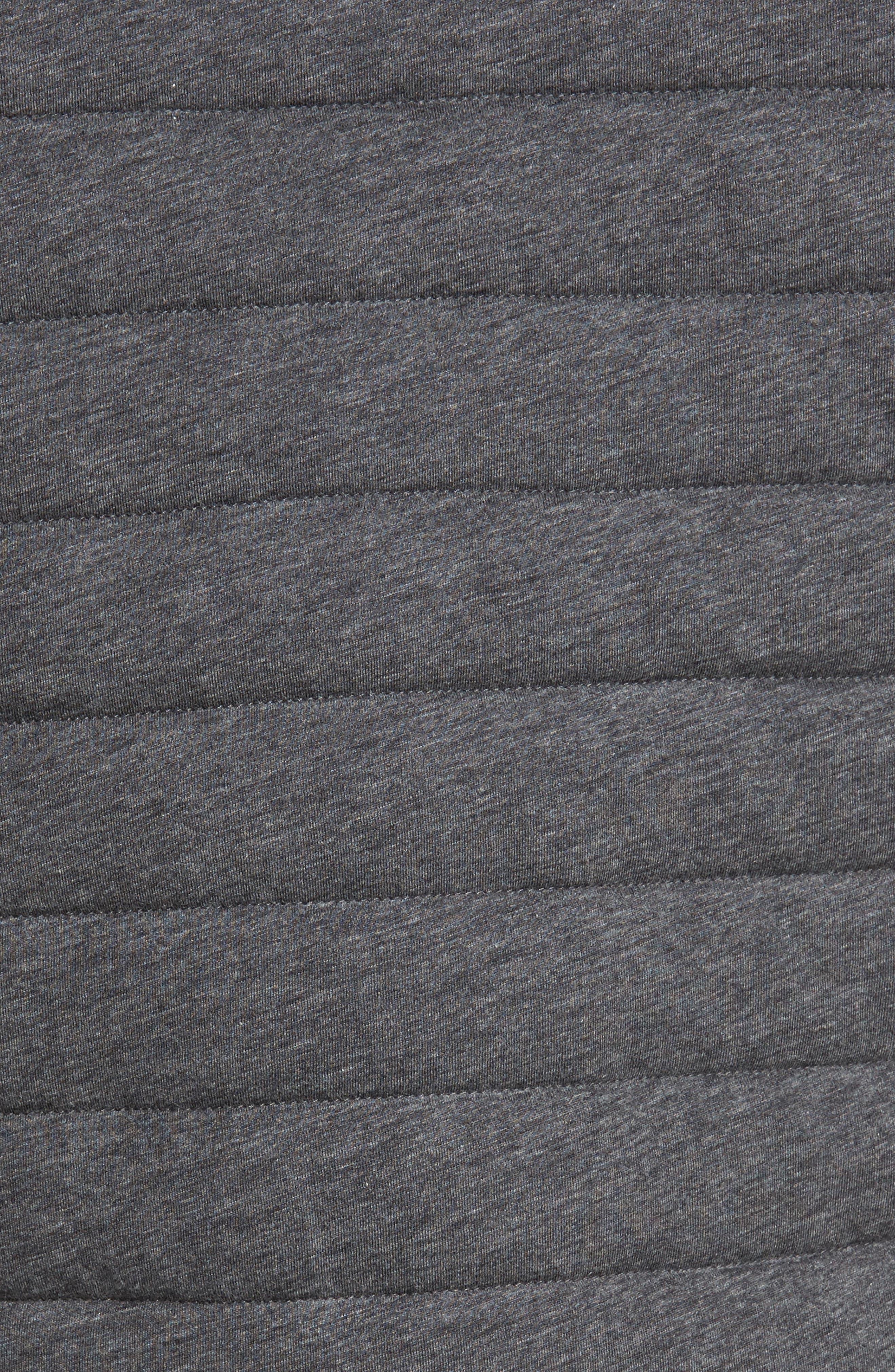 Gallagher Reversible Vest,                             Alternate thumbnail 7, color,                             CHARCOAL