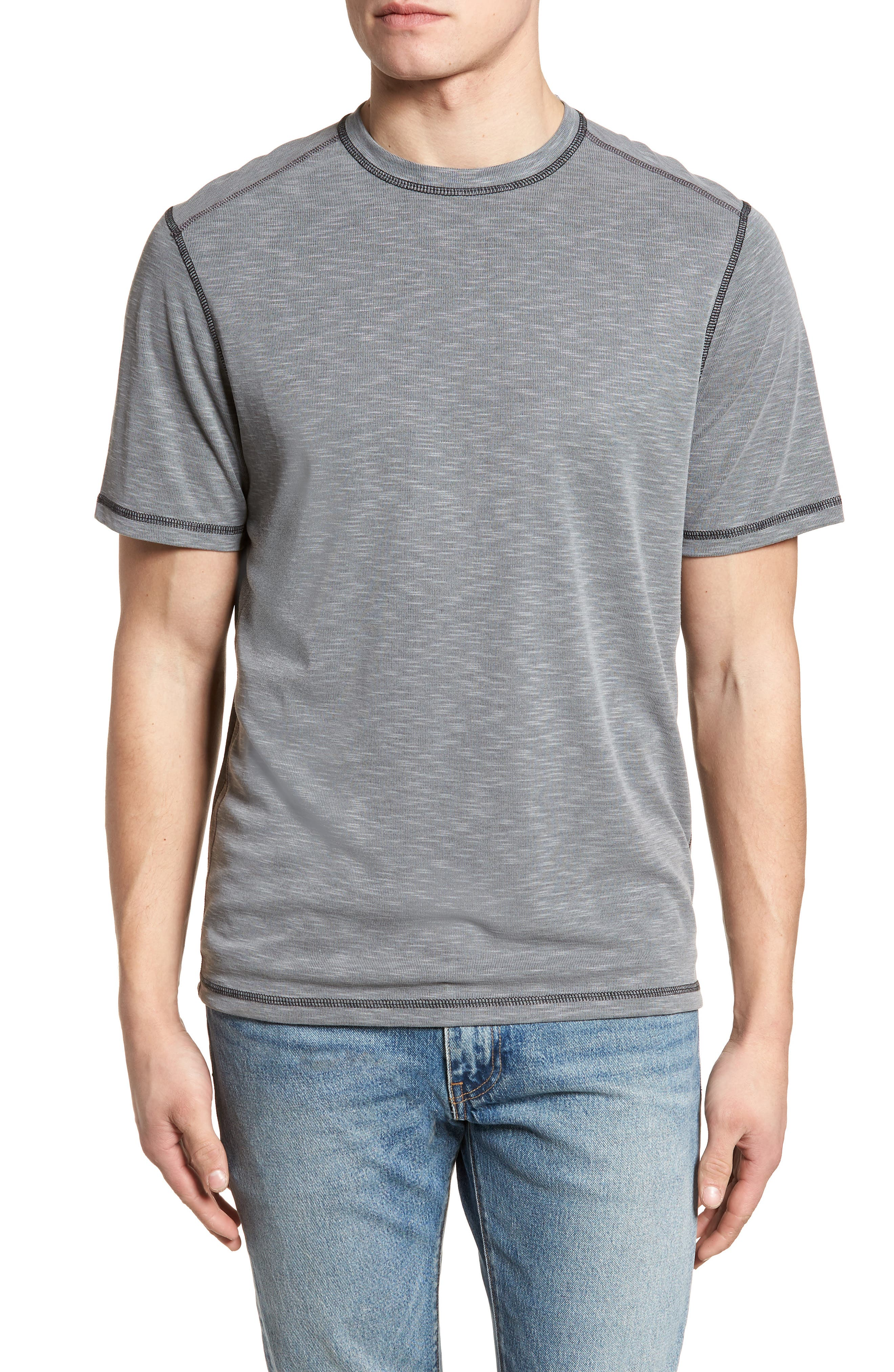 Flip Tide T-Shirt,                             Main thumbnail 1, color,                             COAL