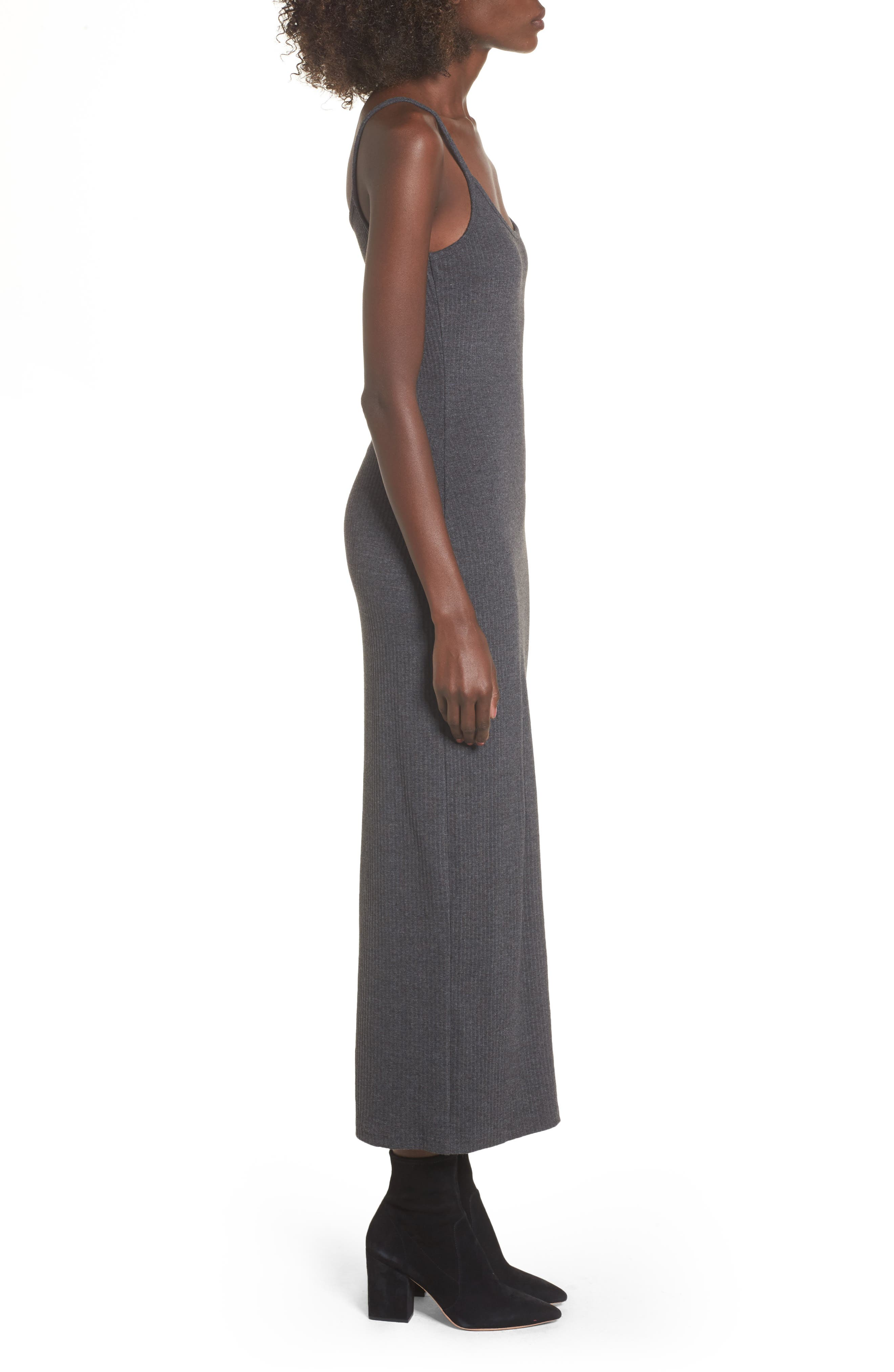Strappy Maxi Dress,                             Alternate thumbnail 3, color,                             020
