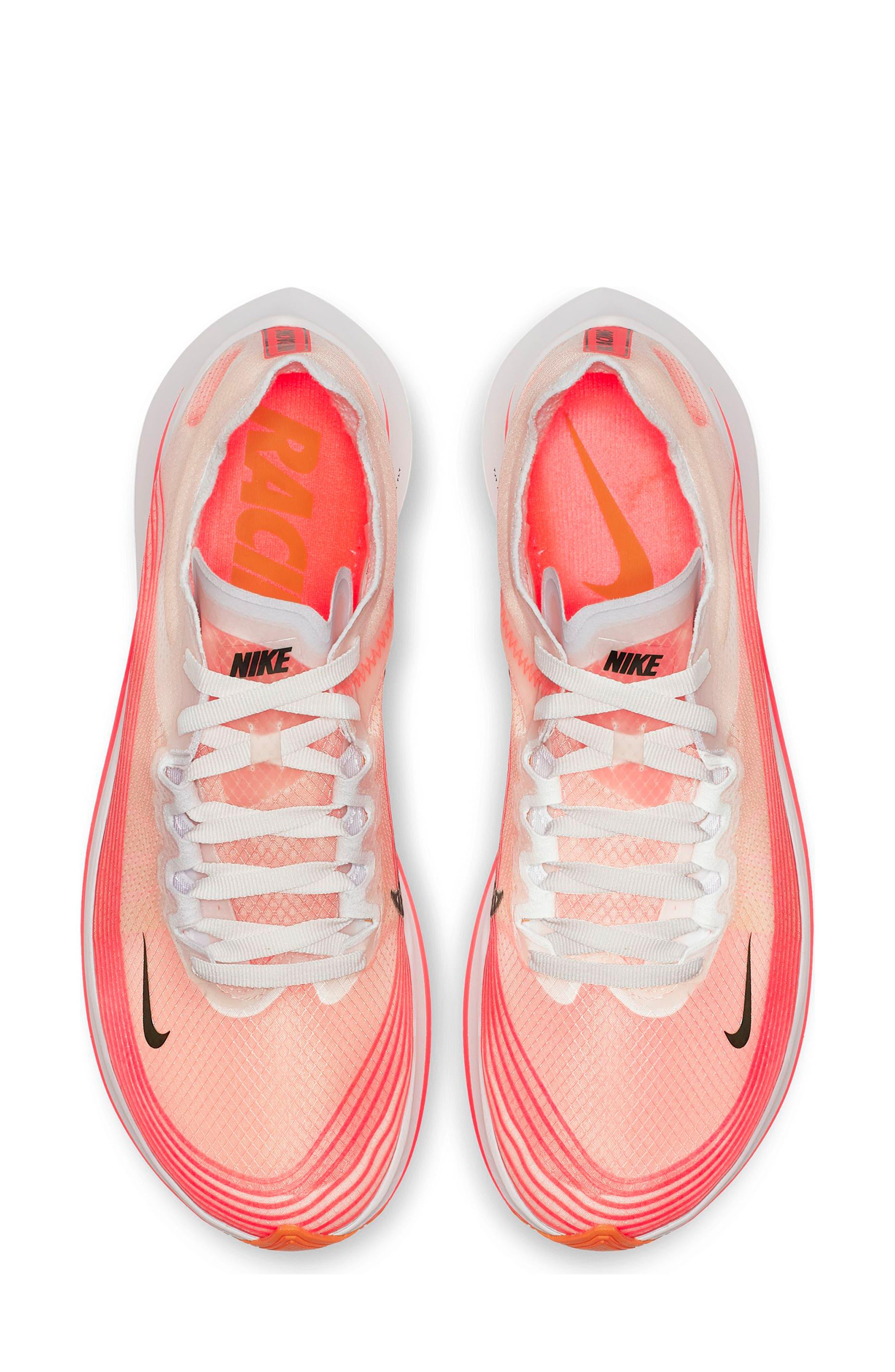 Zoom Fly SP Running Shoe,                             Alternate thumbnail 4, color,                             VARSITY RED/ BLACK/ WHITE