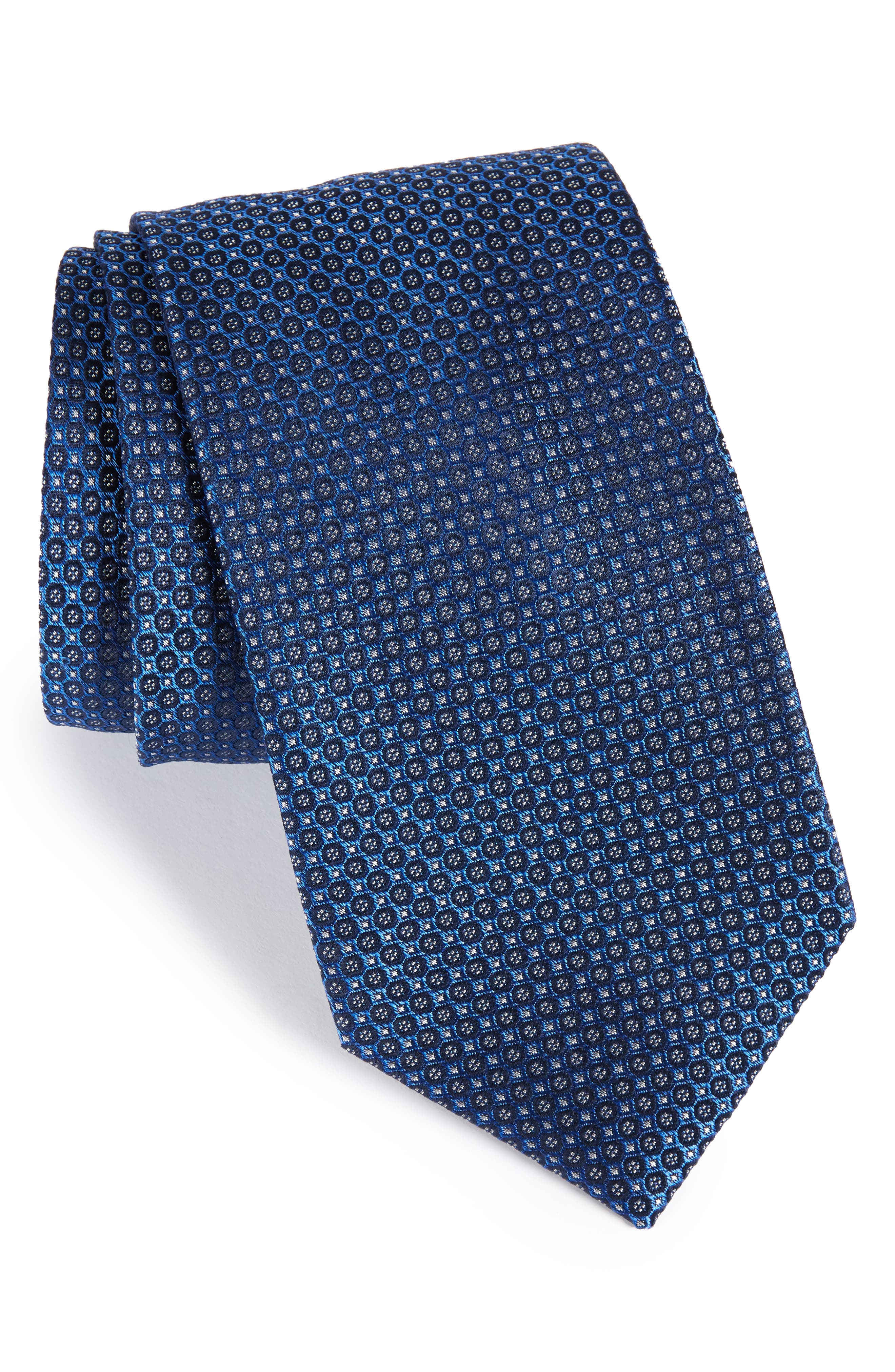 Park Ave Solid Silk Tie,                             Main thumbnail 2, color,