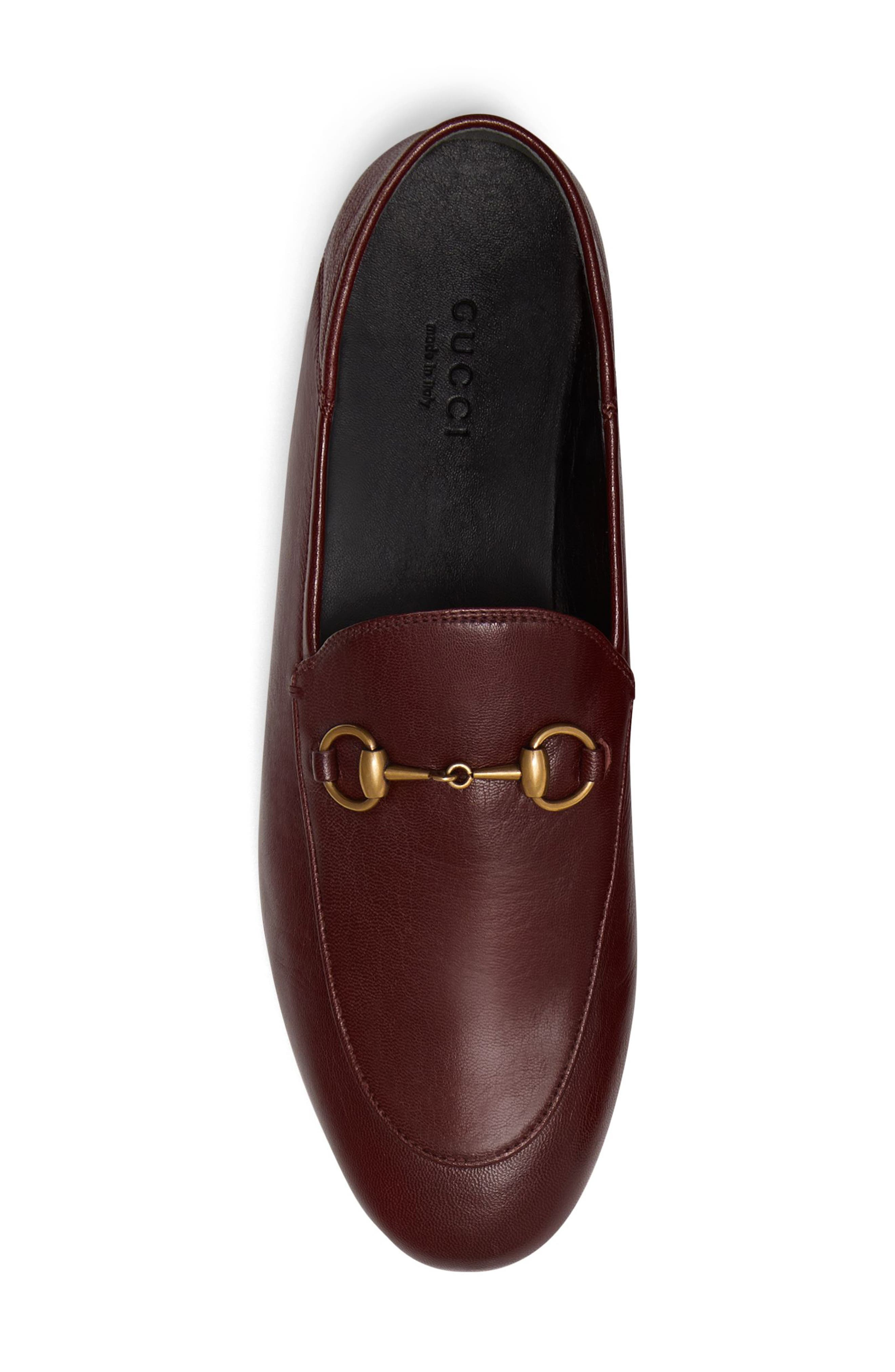 Brixton Convertible Loafer,                             Alternate thumbnail 4, color,                             VINTAGE BORDEAUX