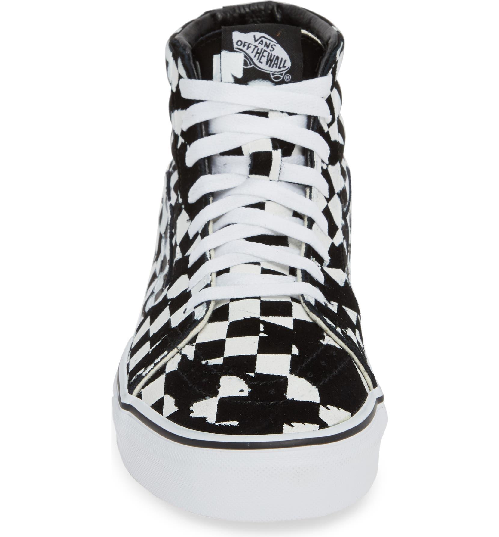 51d25b5fe5d1 Vans Overprint Check Sk8 Hi Sneaker (Men)