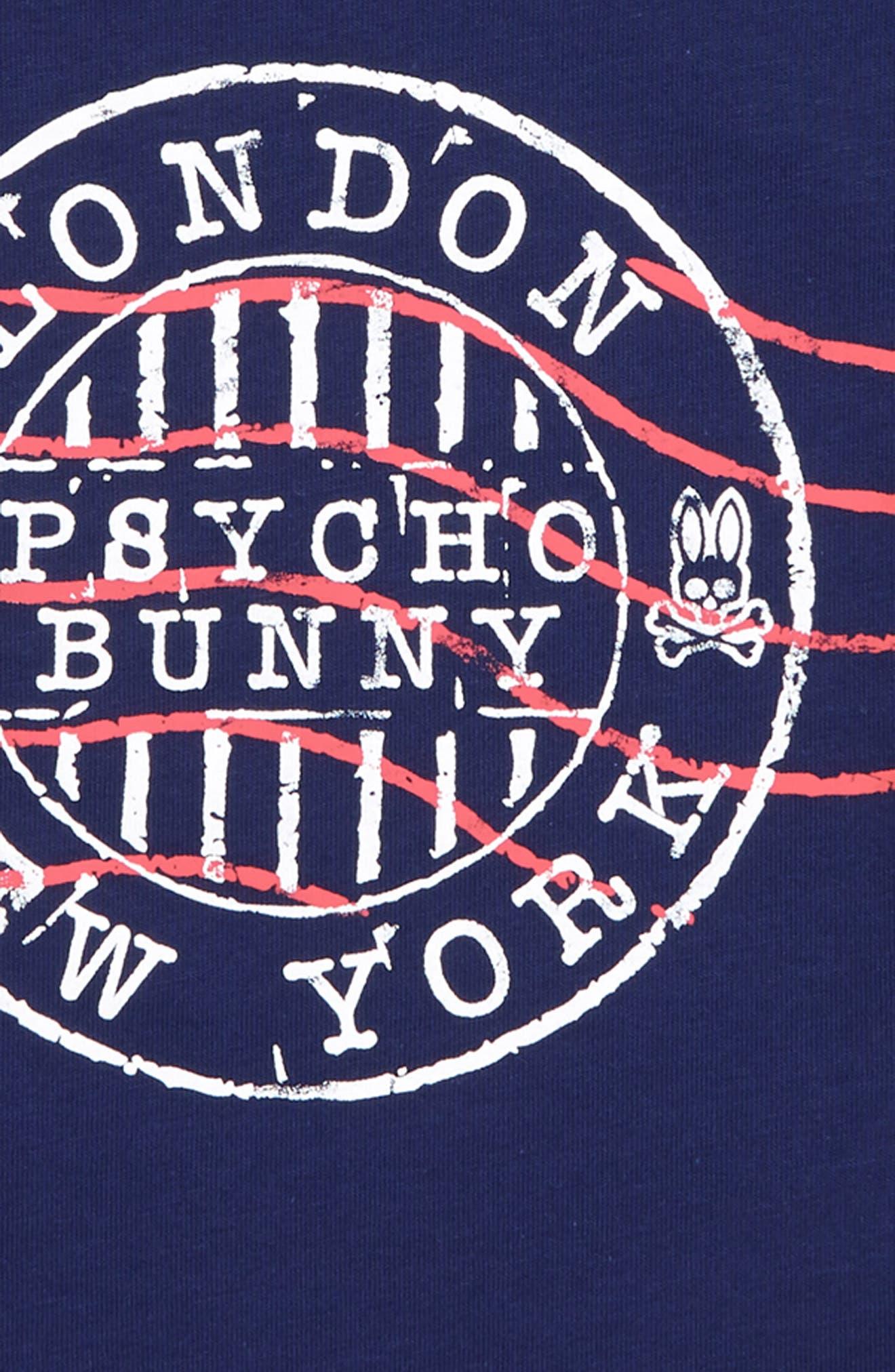 Ashton Graphic T-Shirt,                             Alternate thumbnail 2, color,                             BLUE PRINT
