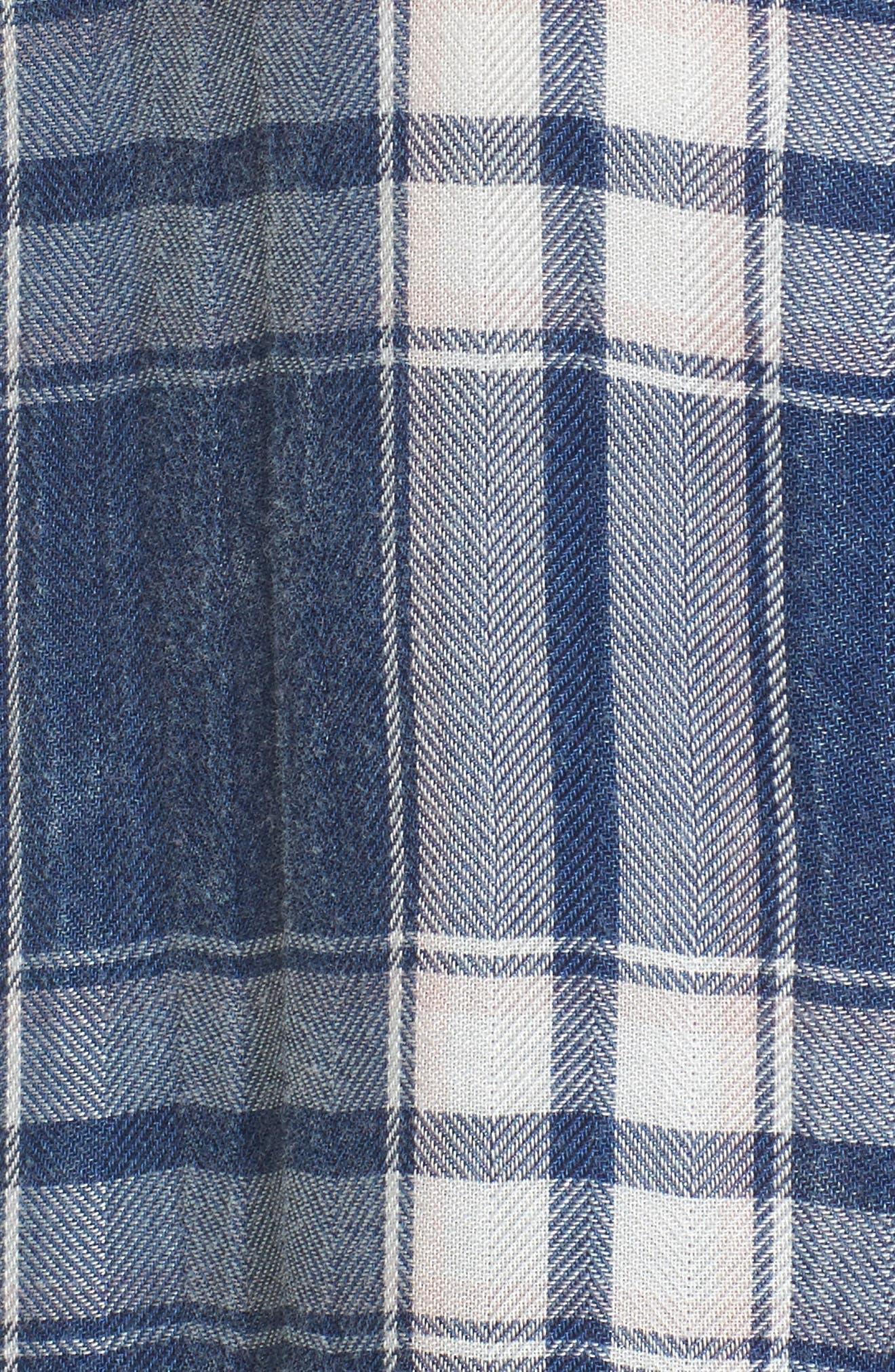 Hunter Plaid Shirt,                             Alternate thumbnail 602, color,