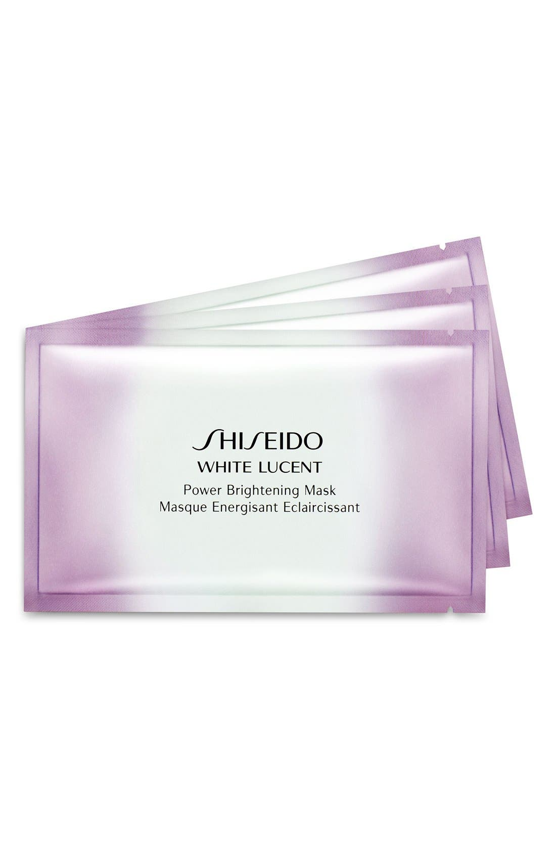 'White Lucent' Instant Fix Mask Total Brightening,                             Main thumbnail 1, color,                             000