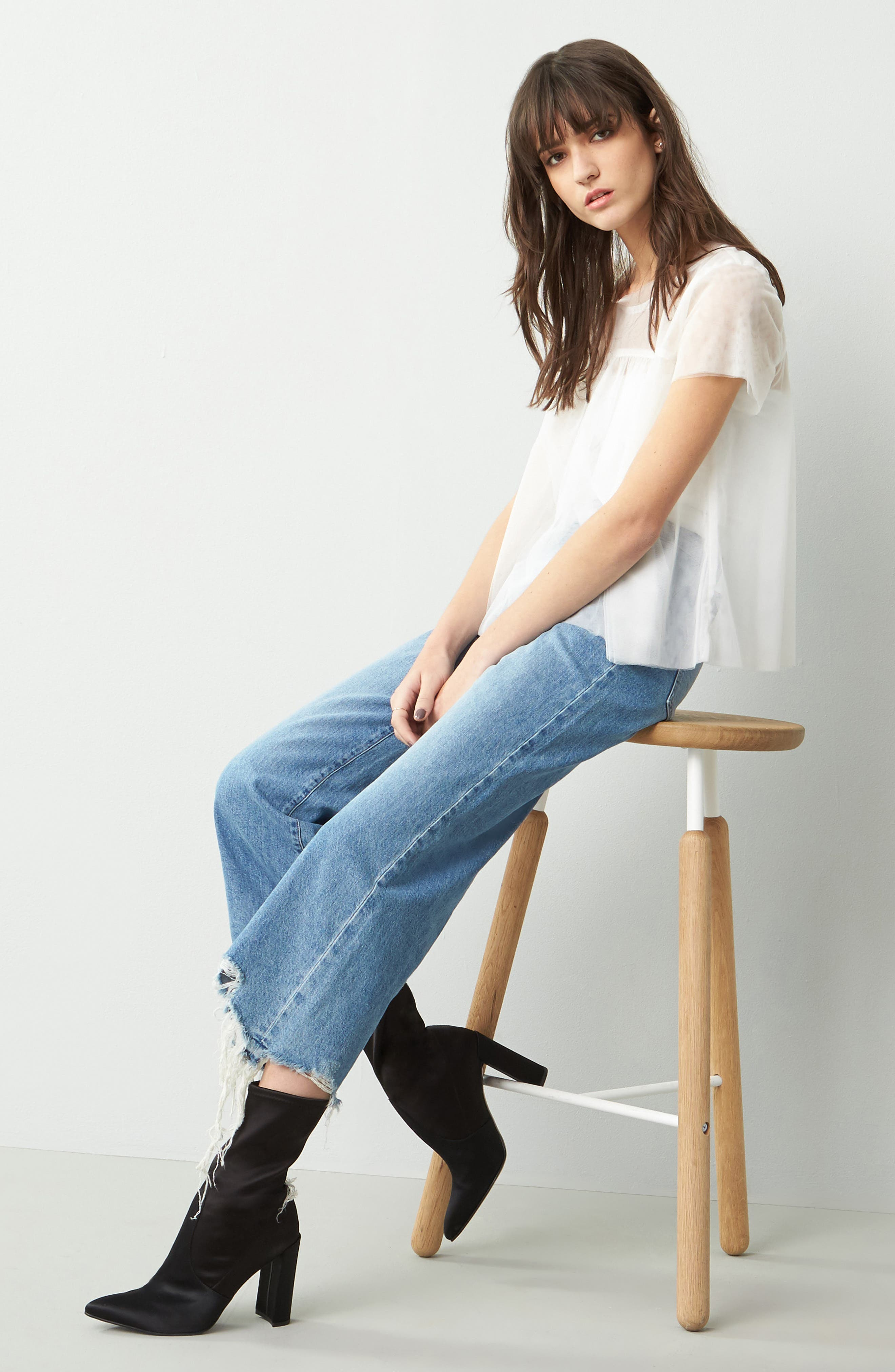 Hepburn High Rise Wide Leg Jeans,                         Main,                         color, 425