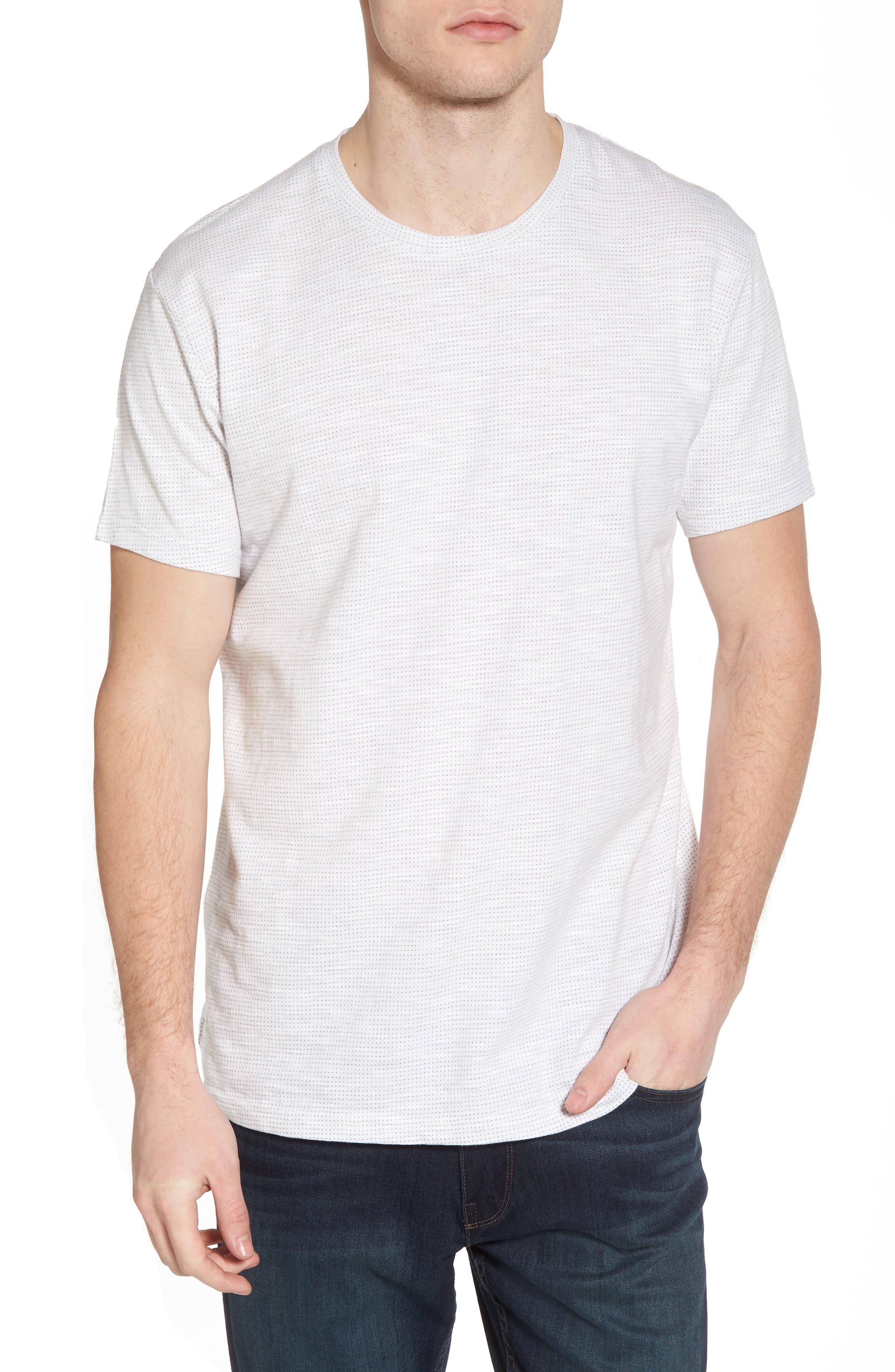 Slub Jacquard T-Shirt,                         Main,                         color, 111