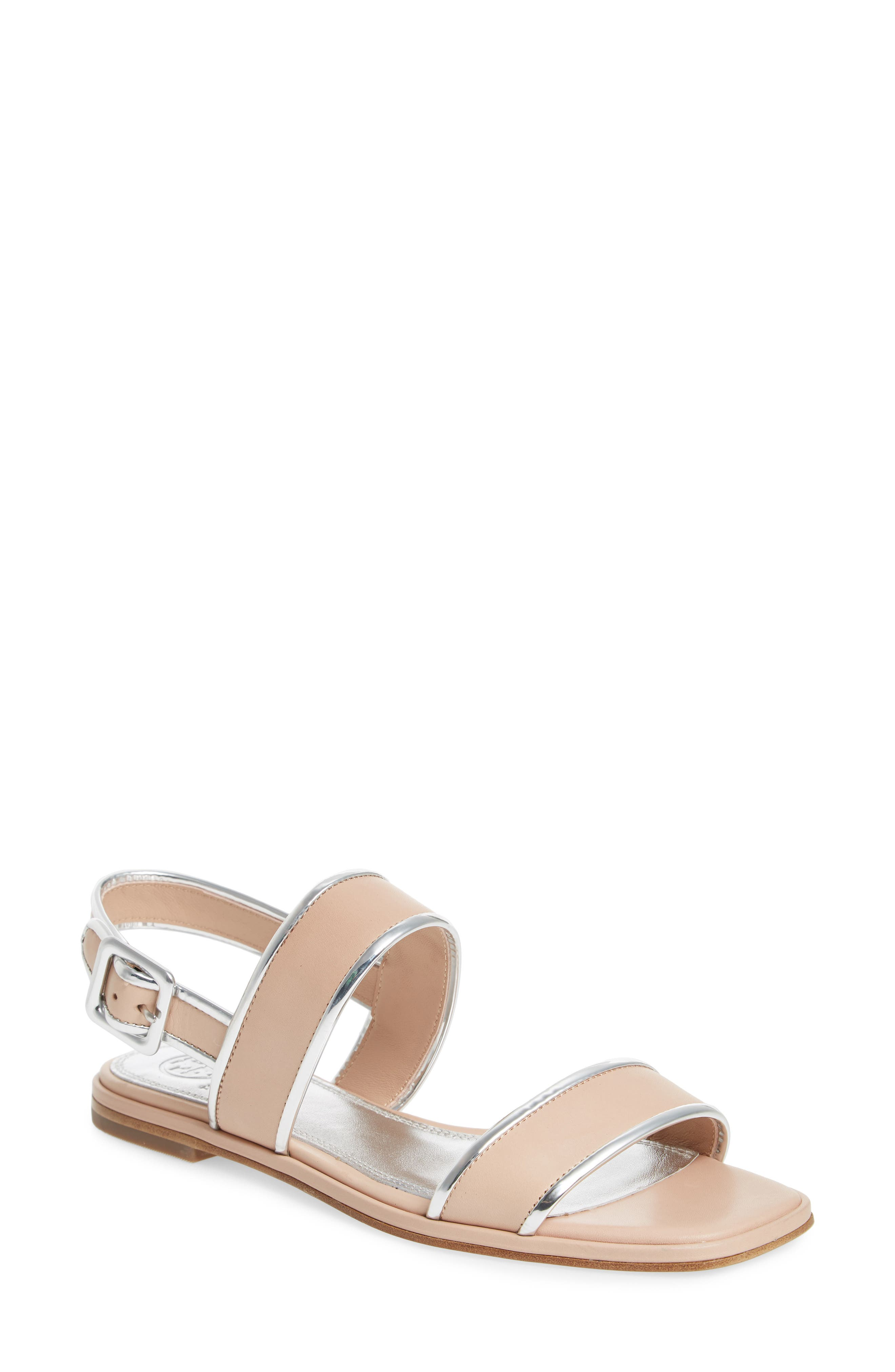 Delaney Double Strap Sandal,                             Main thumbnail 2, color,