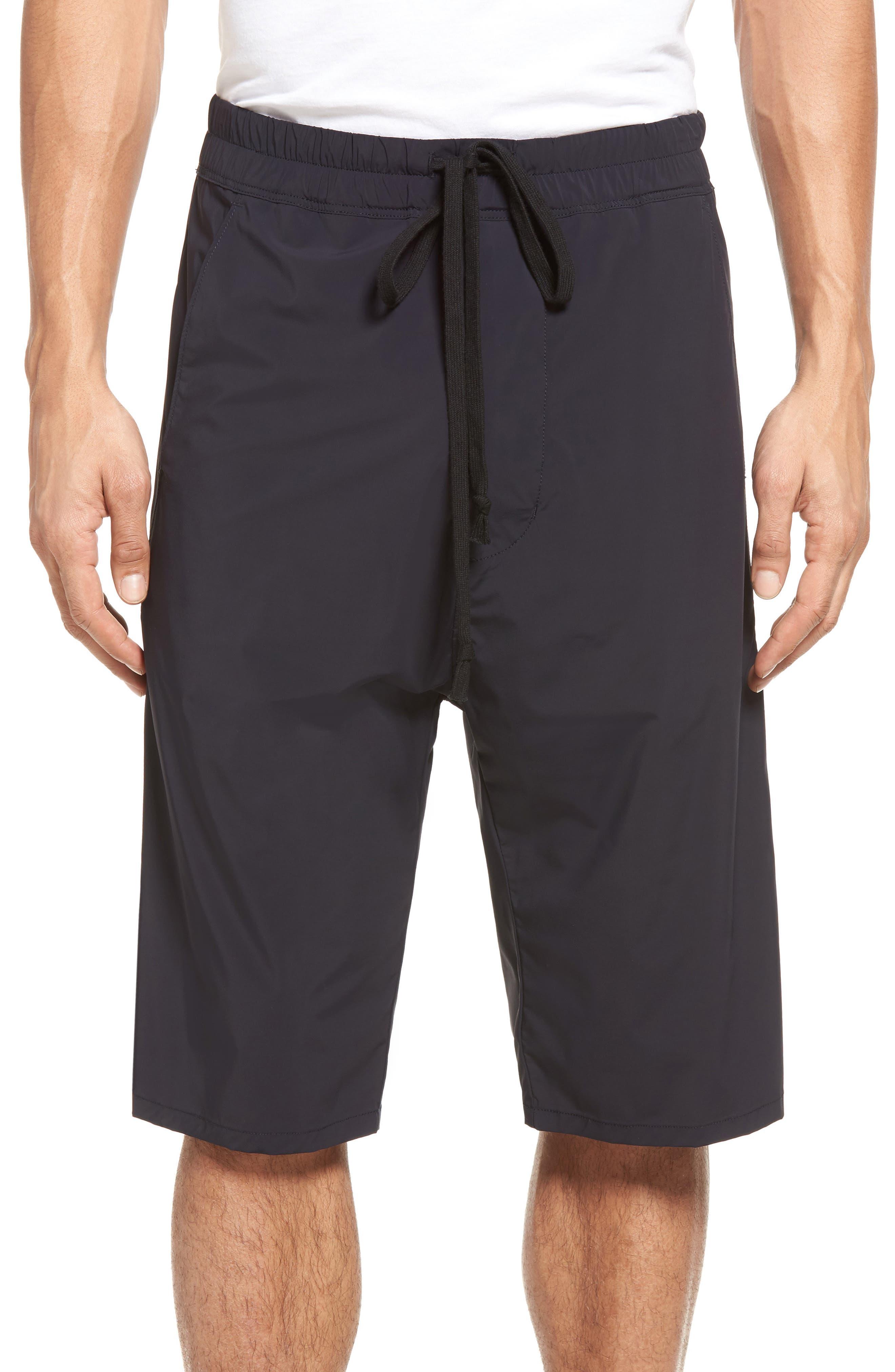 Drop Crotch Shorts,                             Main thumbnail 1, color,                             001