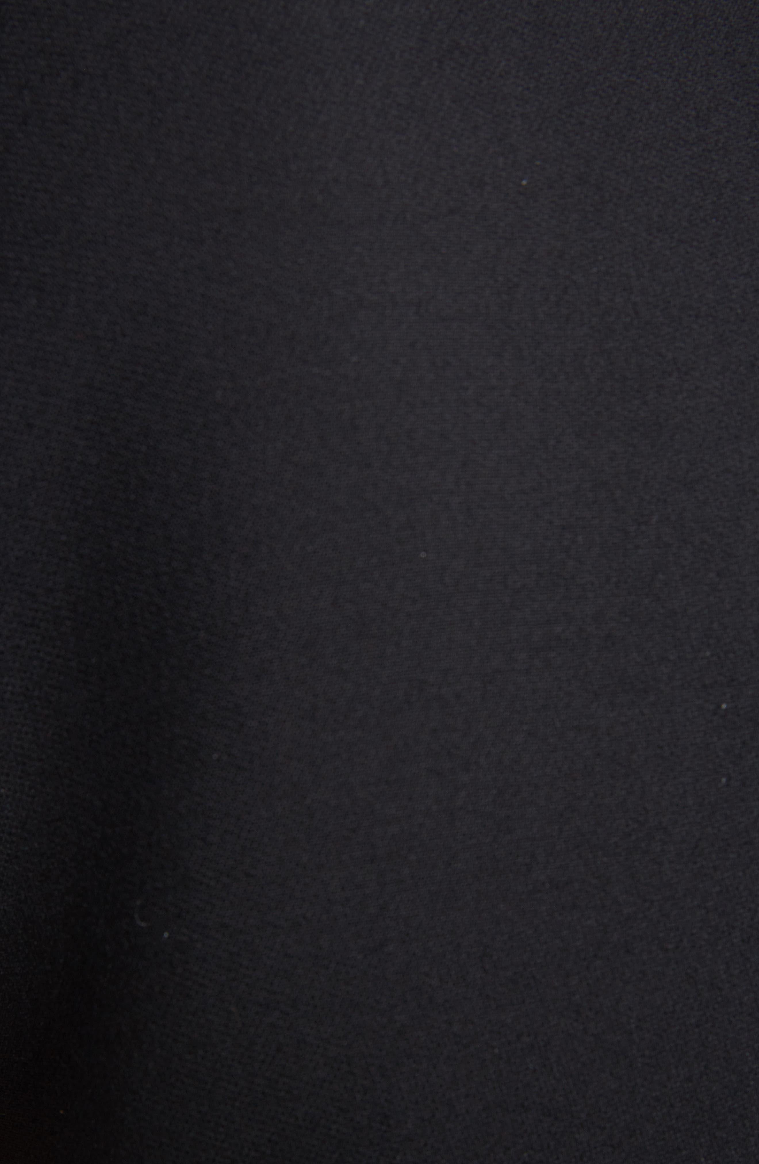 Stitched Handkerchief Hem Dress,                             Alternate thumbnail 5, color,                             001