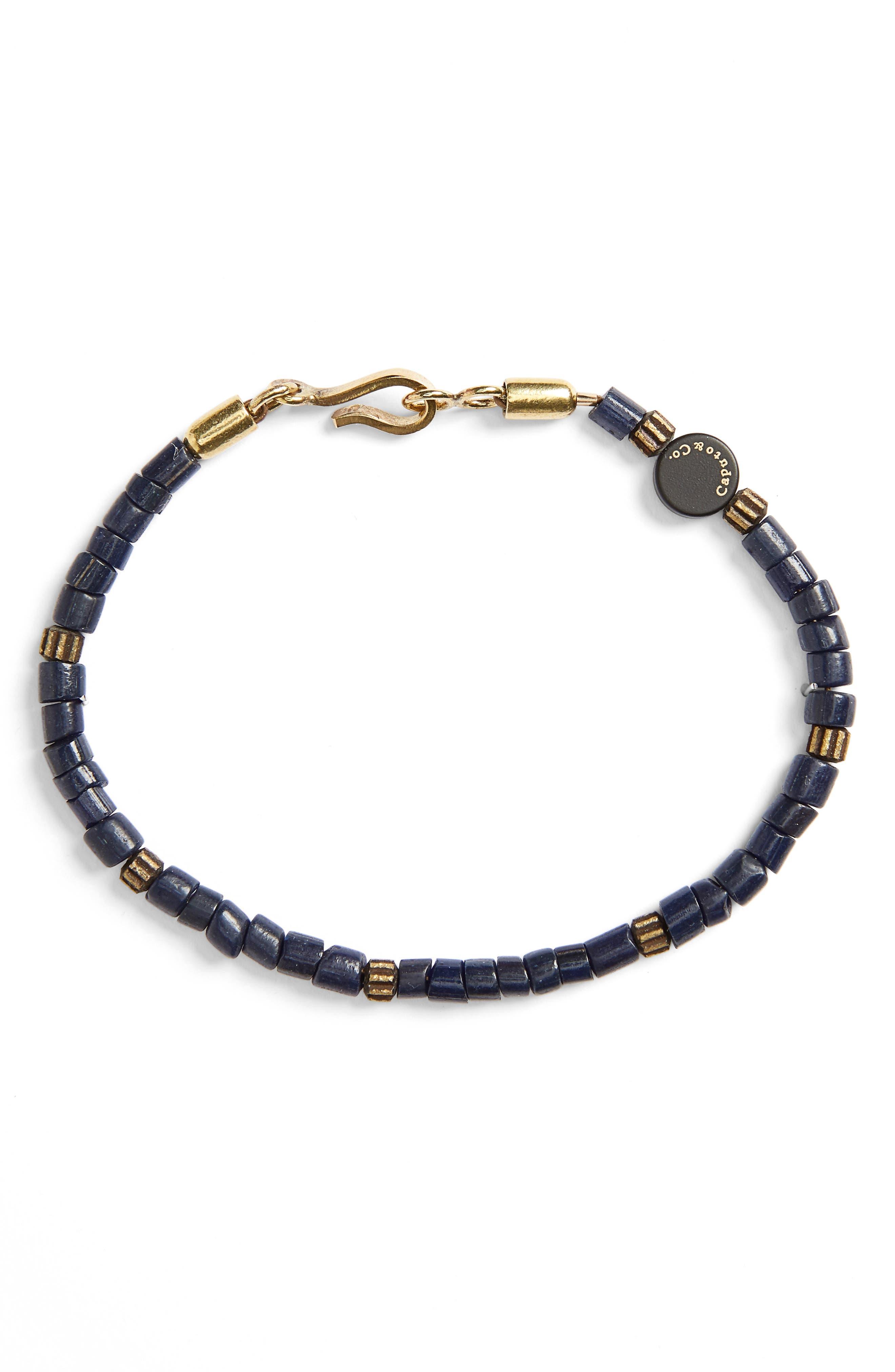 Glass Bead Bracelet,                         Main,                         color, 400