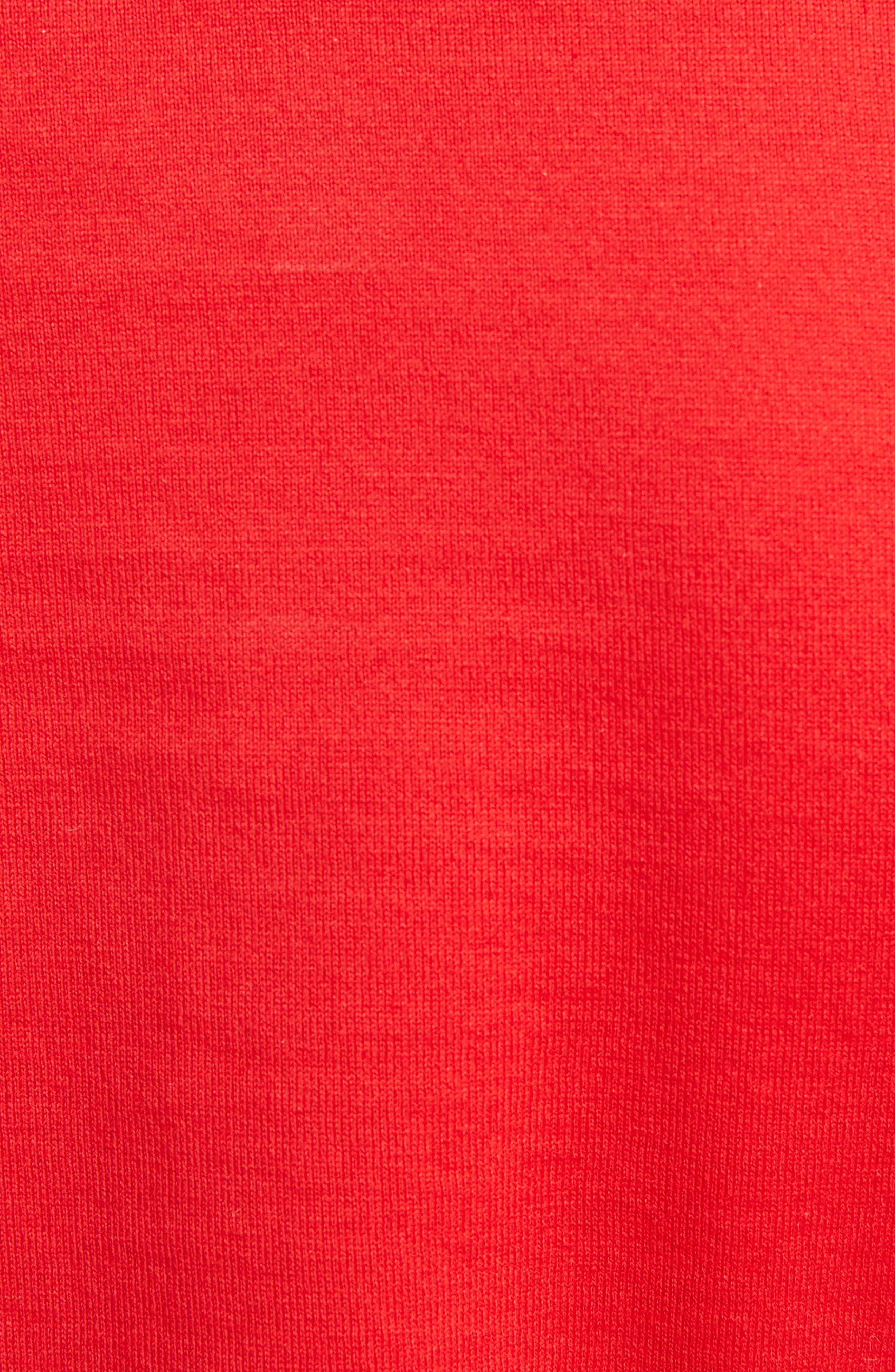 Bambi Cotton Tee,                             Alternate thumbnail 5, color,                             RED