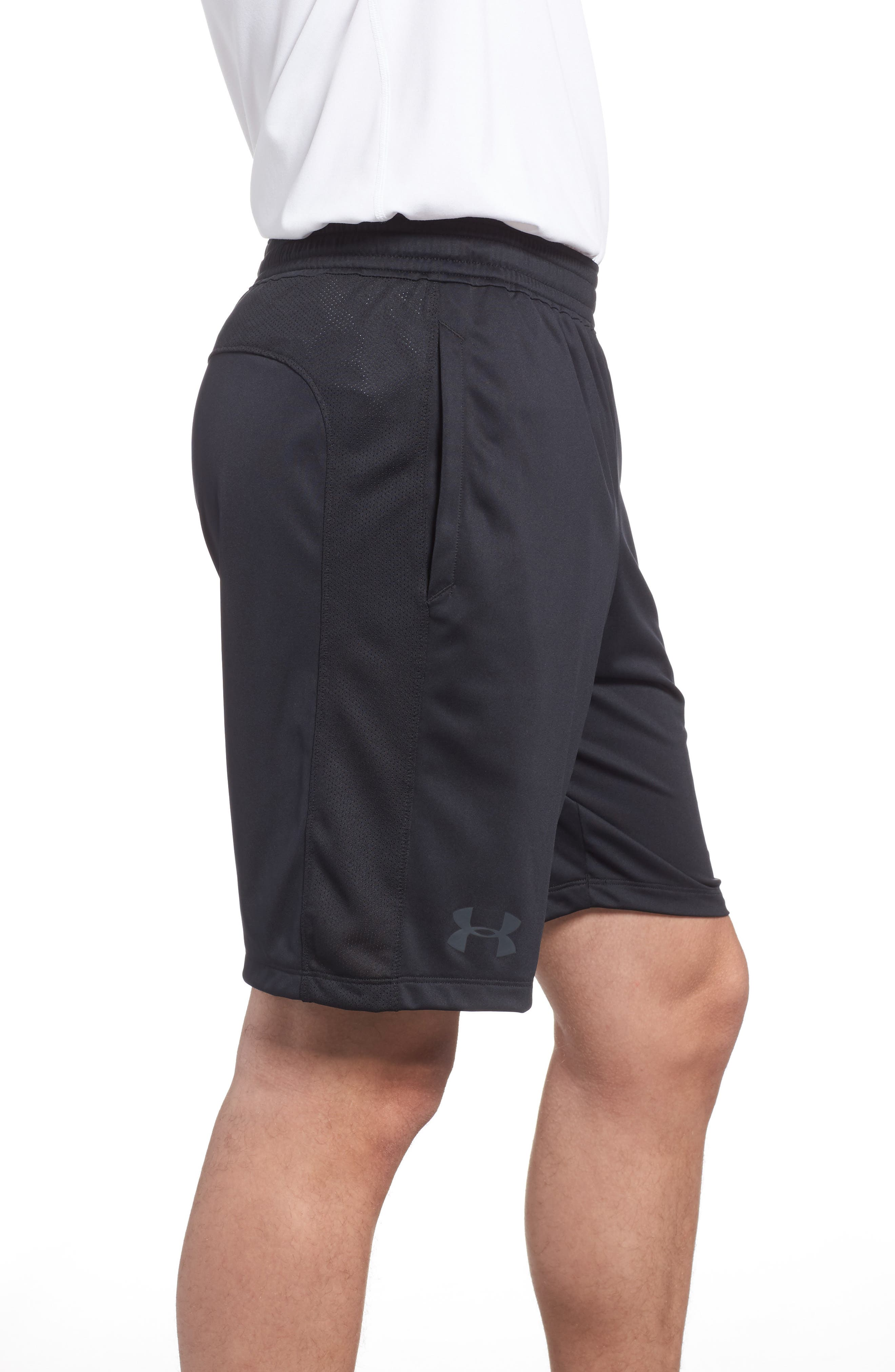 Raid 2.0 Classic Fit Shorts,                             Alternate thumbnail 3, color,                             BLACK