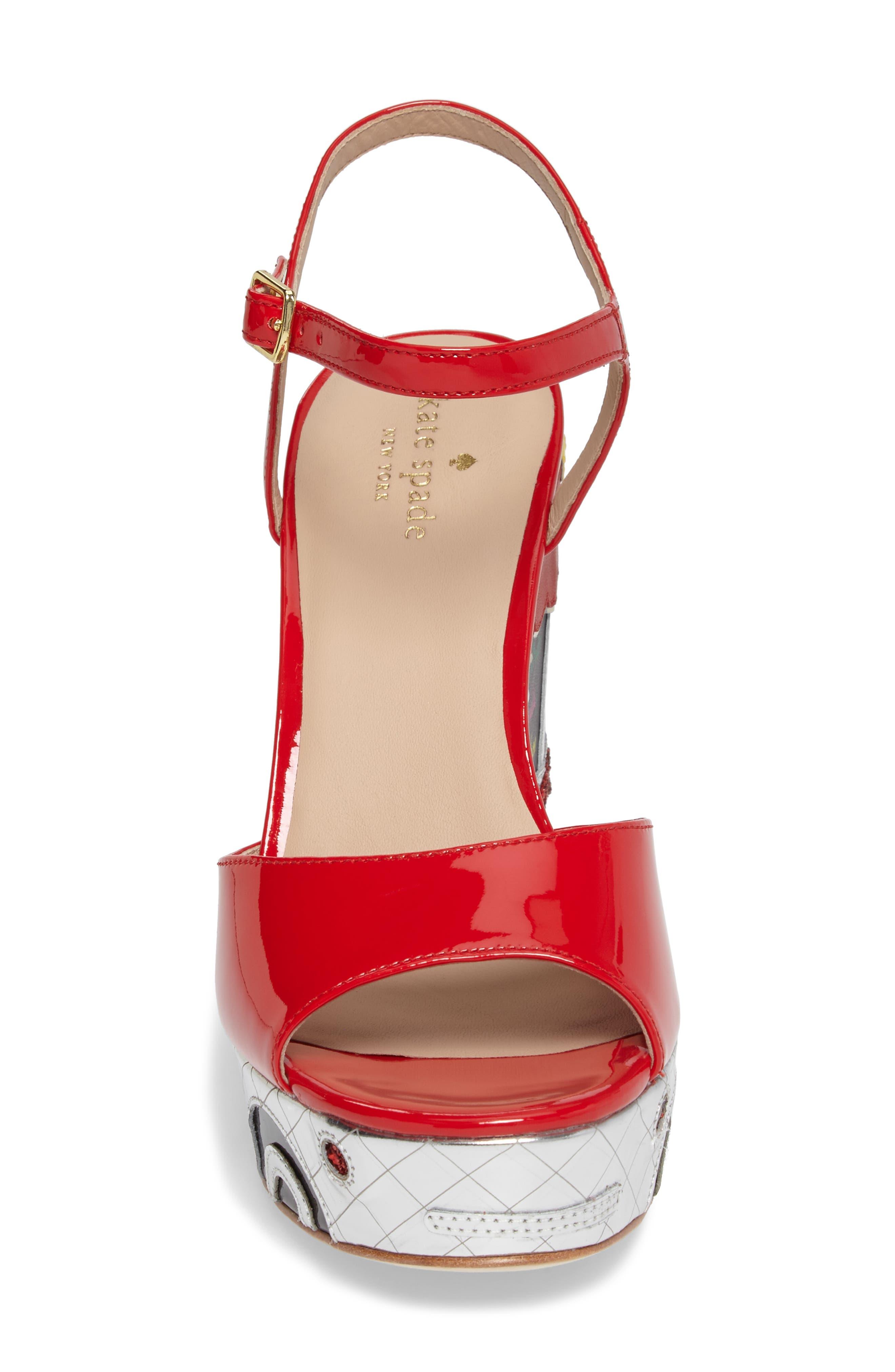 dora wedge sandal,                             Alternate thumbnail 4, color,                             641