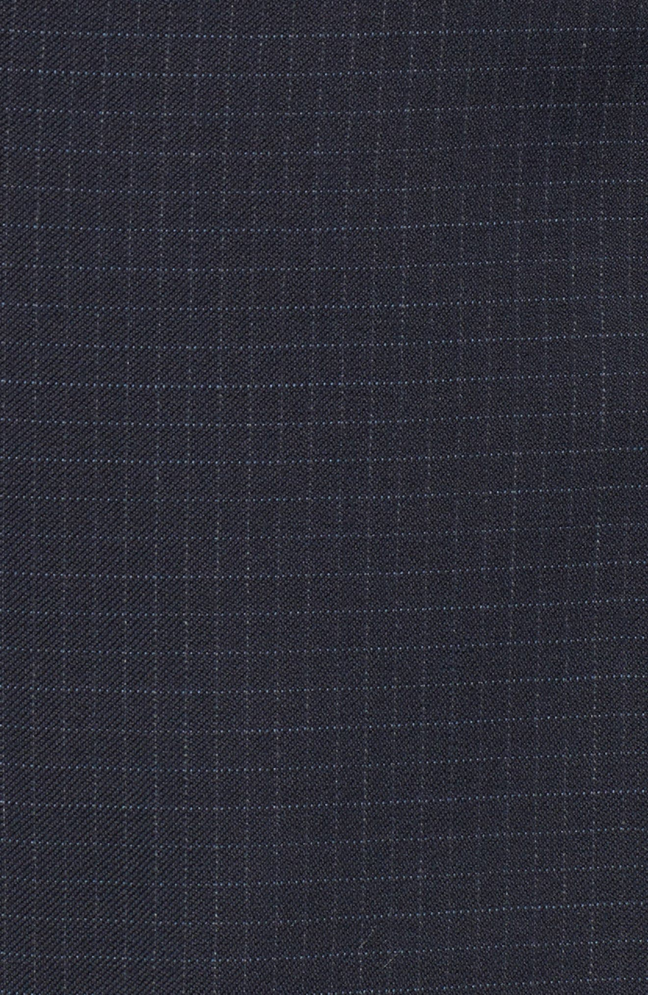 Ryan Classic Fit Check Wool Suit,                             Alternate thumbnail 7, color,                             410