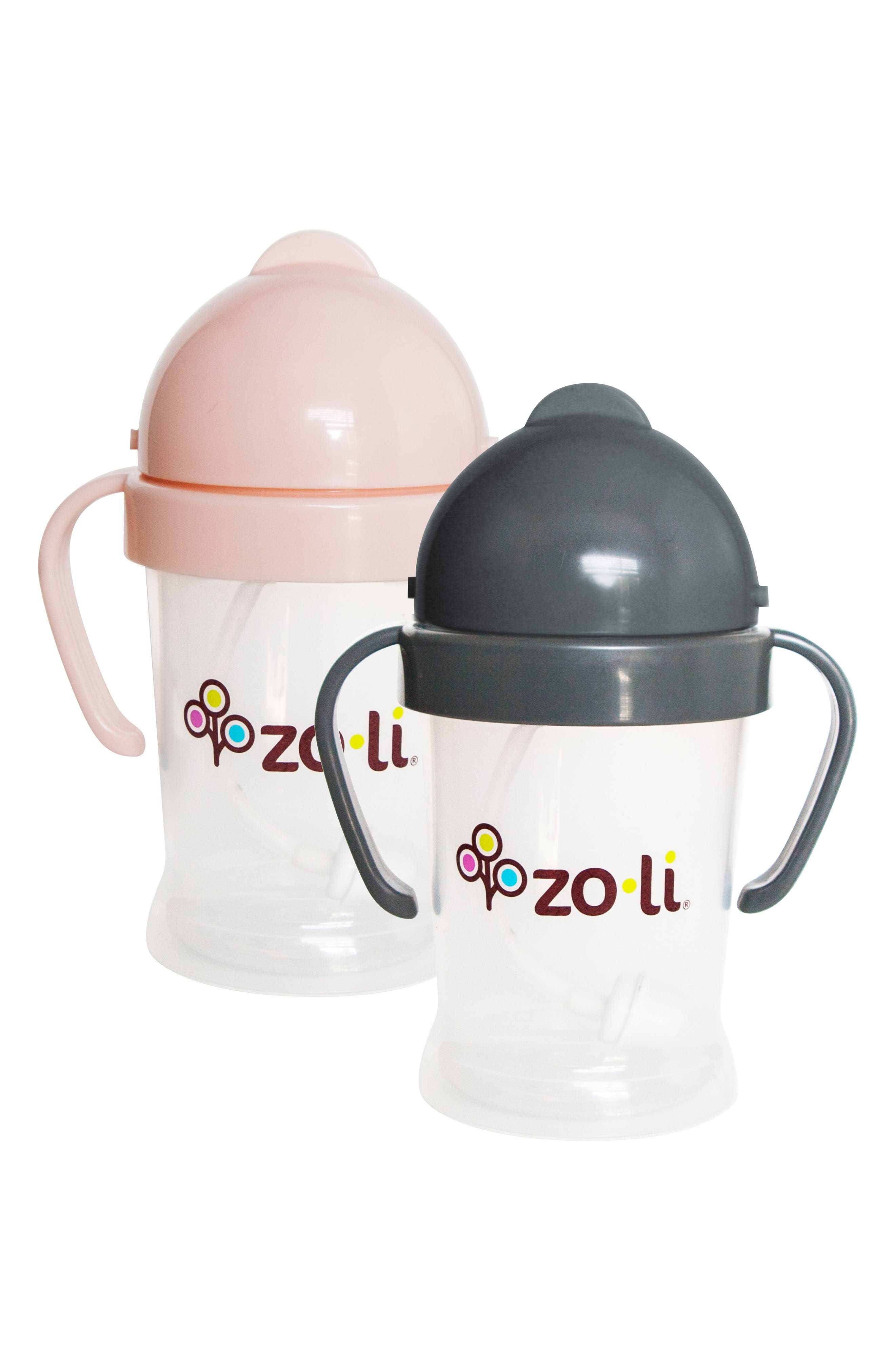 New BOT Set of 2 Sippy Cups,                             Main thumbnail 2, color,