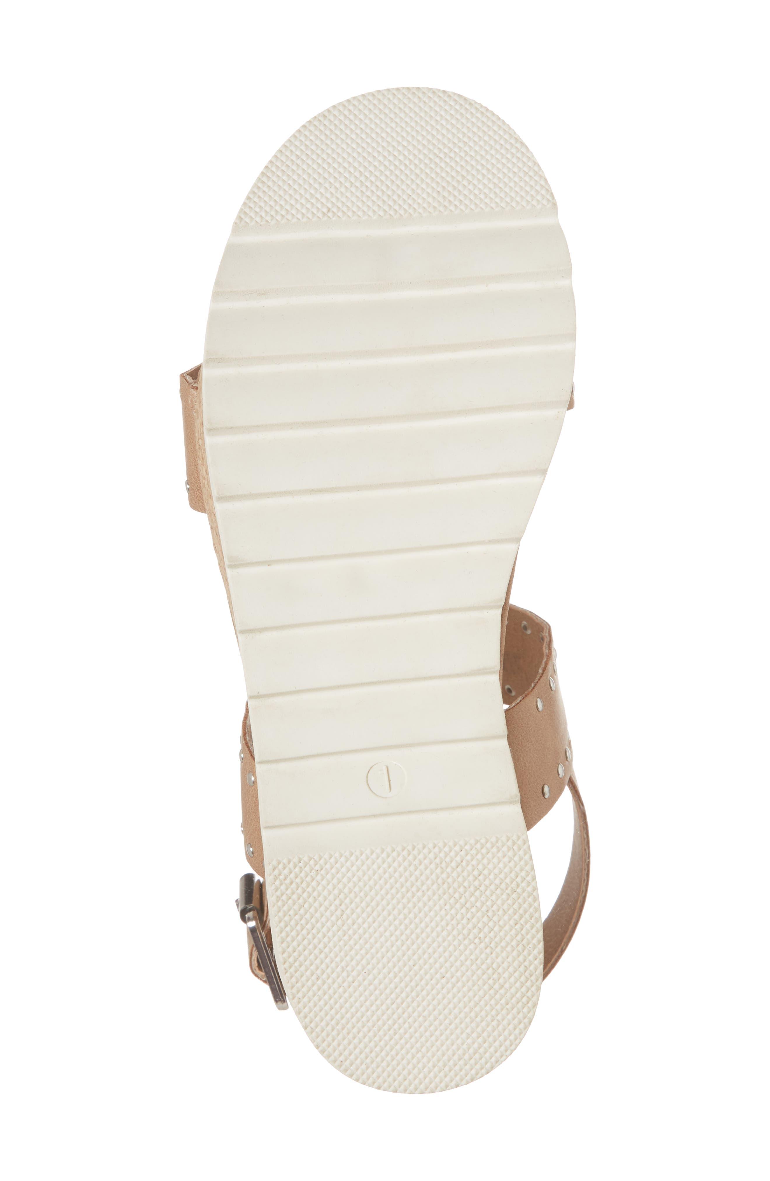 STEVE MADDEN,                             JKRISTIE Platform Sandal,                             Alternate thumbnail 6, color,                             200