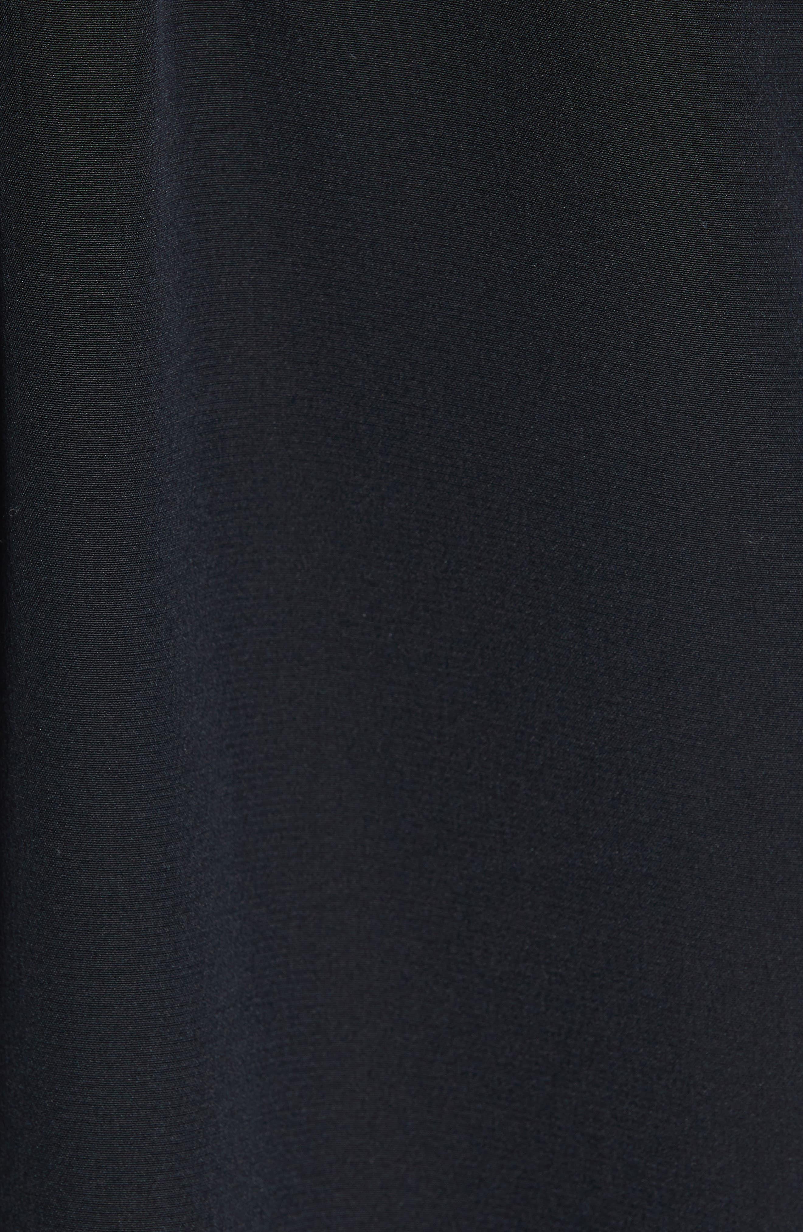 Silk Top,                             Alternate thumbnail 5, color,                             BLACK