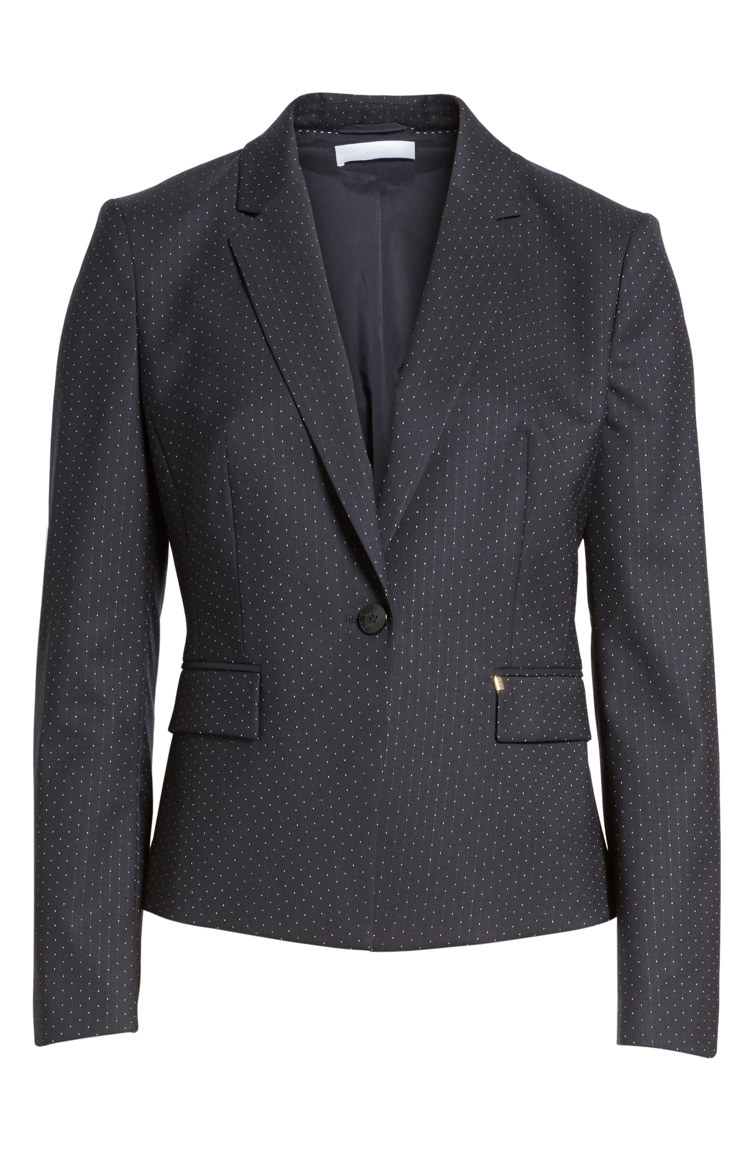 Jinalika Wool Suit Jacket,                             Alternate thumbnail 5, color,