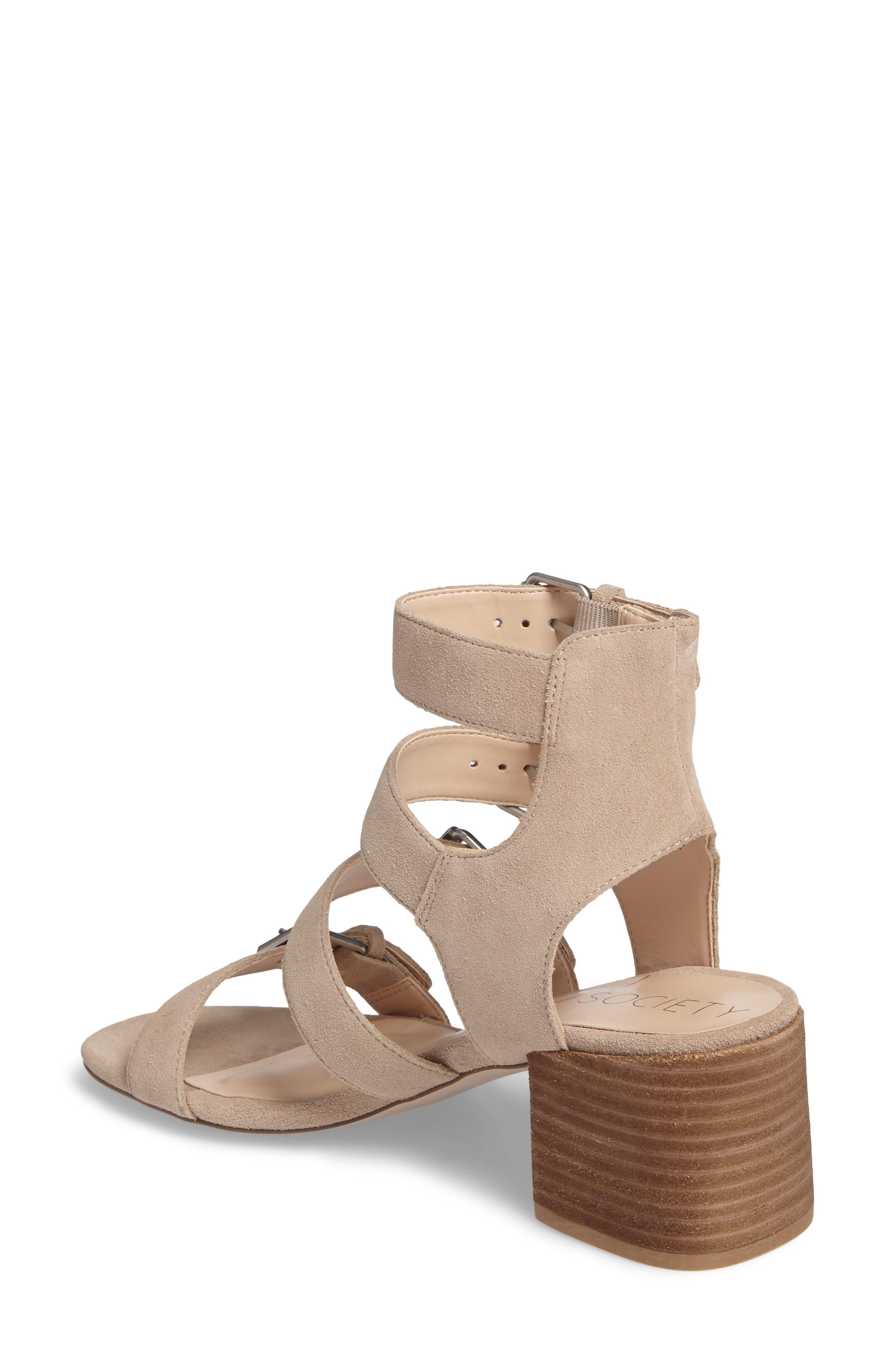 Culver Block Heel Sandal,                             Alternate thumbnail 4, color,