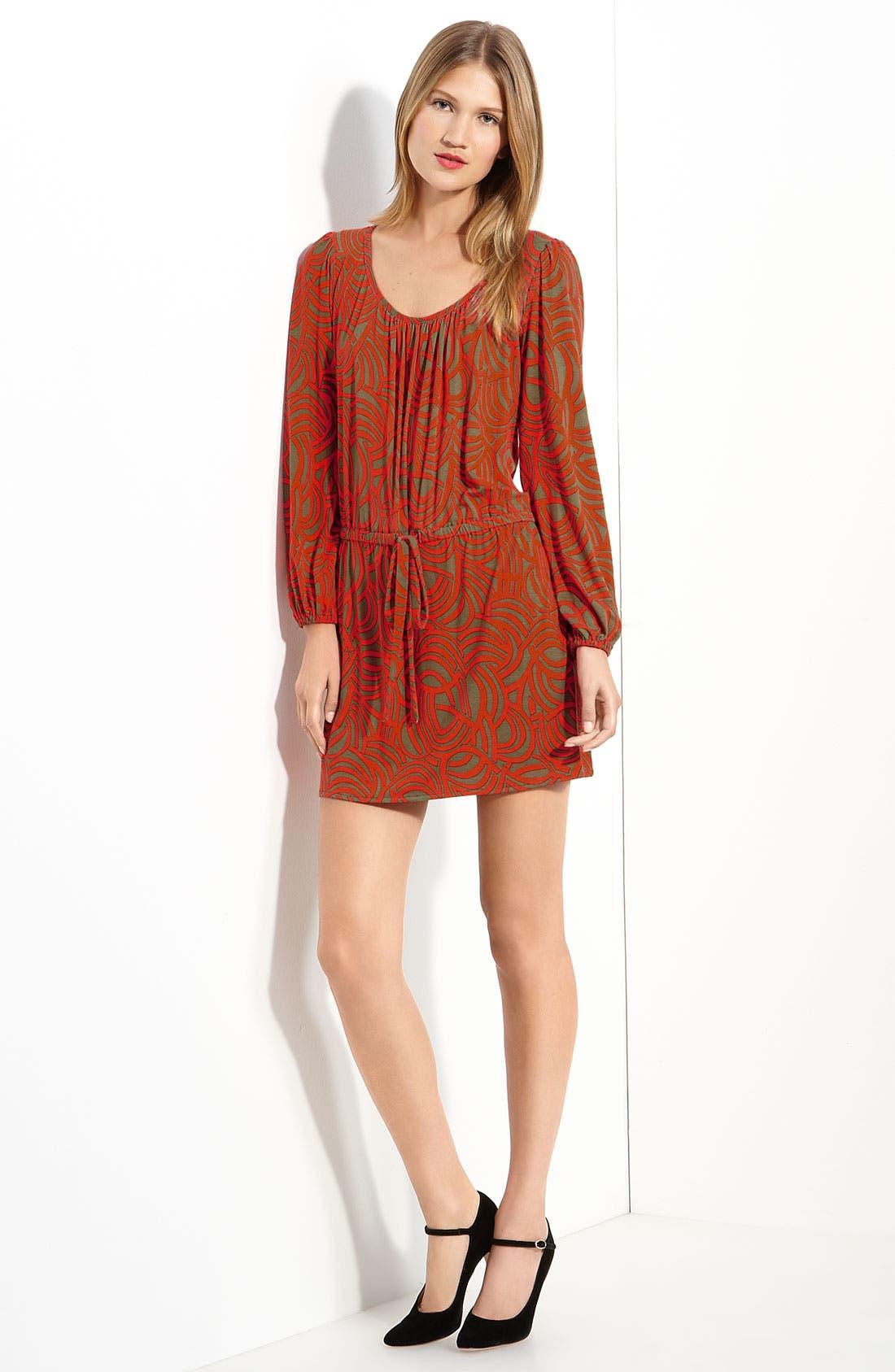 Printed Jersey Dress,                             Main thumbnail 1, color,                             809